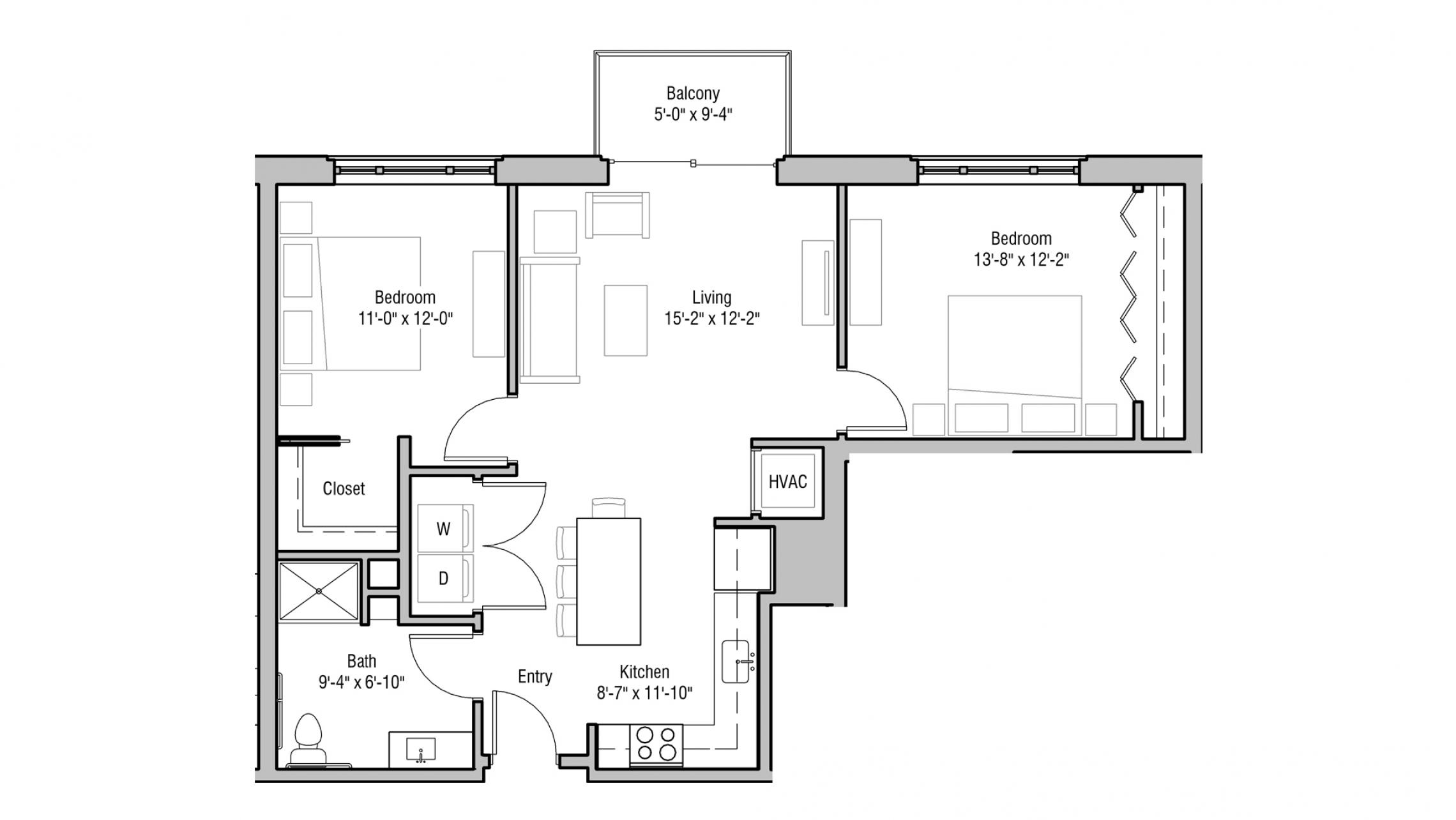 ULI 1722 Monroe 212 - Two Bedroom, Two Bathroom