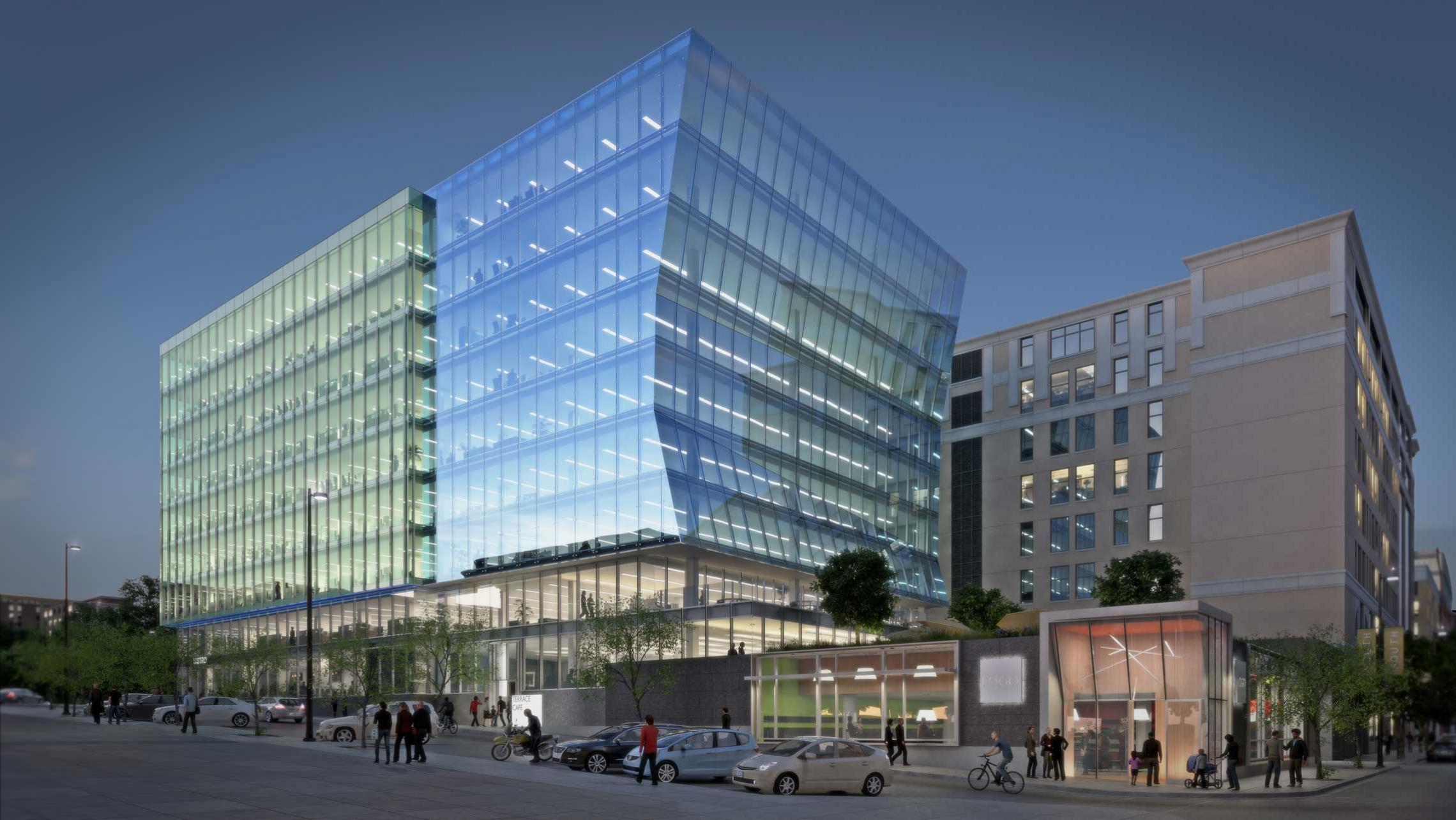 ULI 25 West Main Rendering - Doty Street