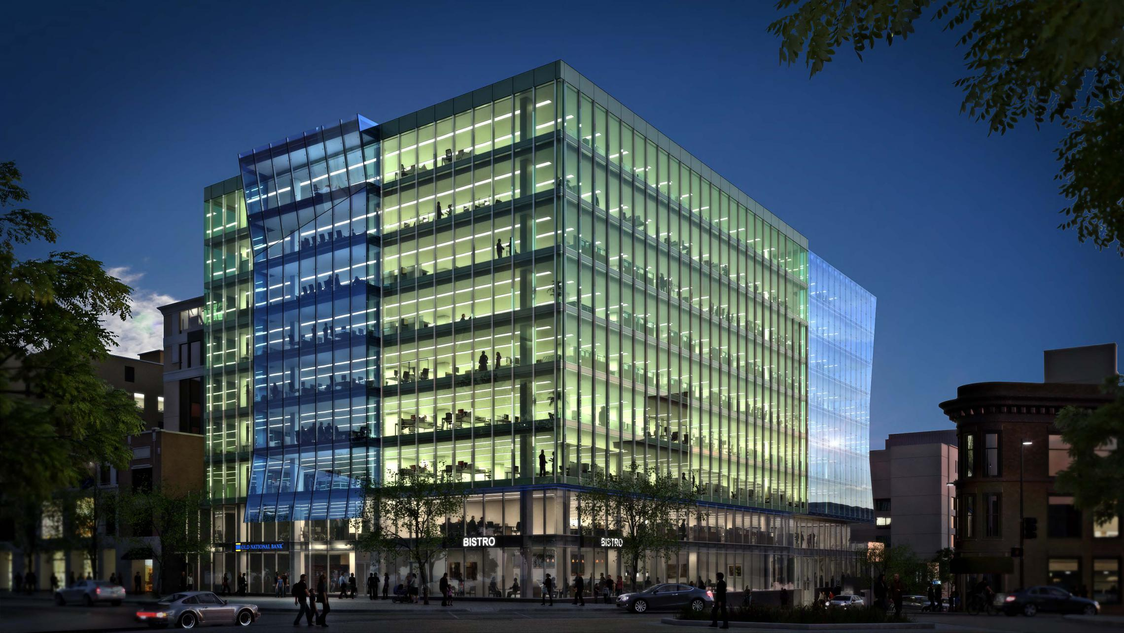 ULI 25 West Main Rendering