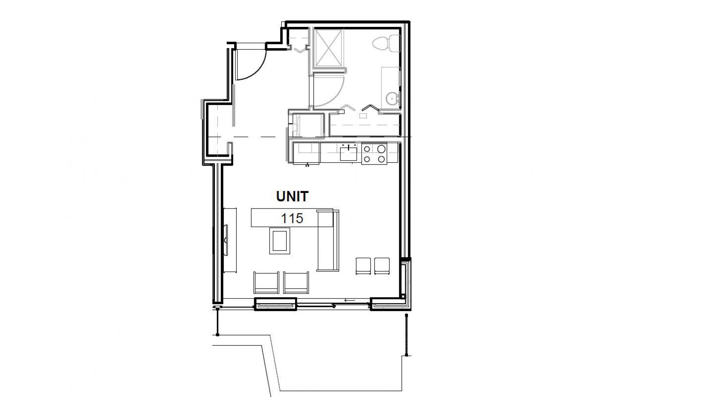 ULI Apartment 115