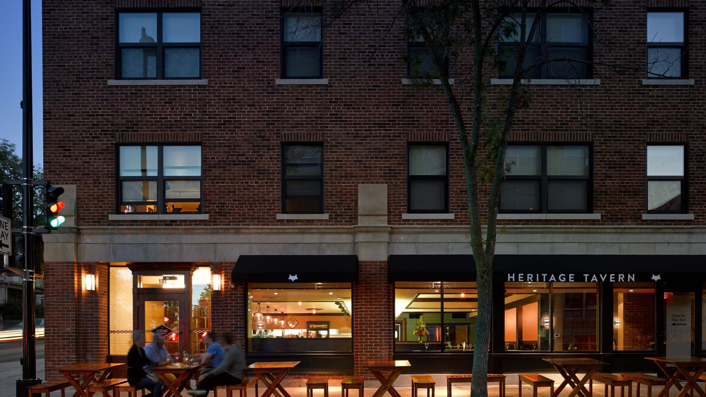 ULI Capitol Hill Apartments, Heritage Tavern