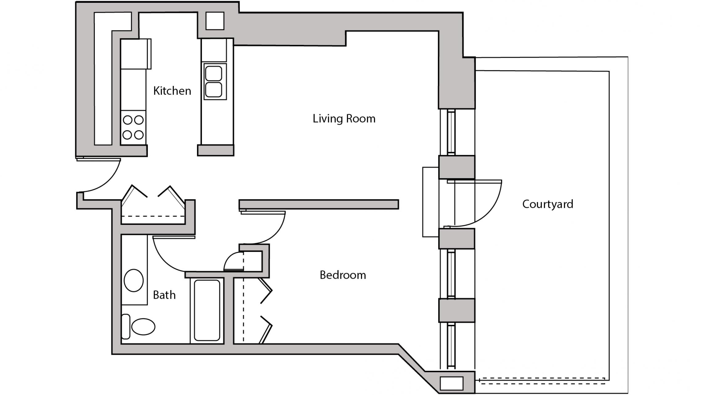 ULI Lincoln School 207 - One Bedroom, One Bathroom