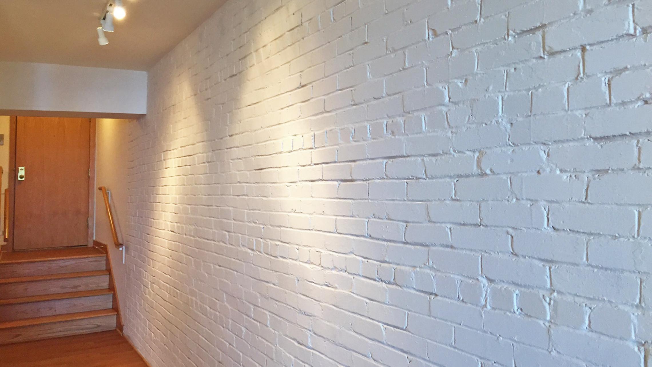 ULI Lincoln School Apartment 205 - Historic Brick Wall