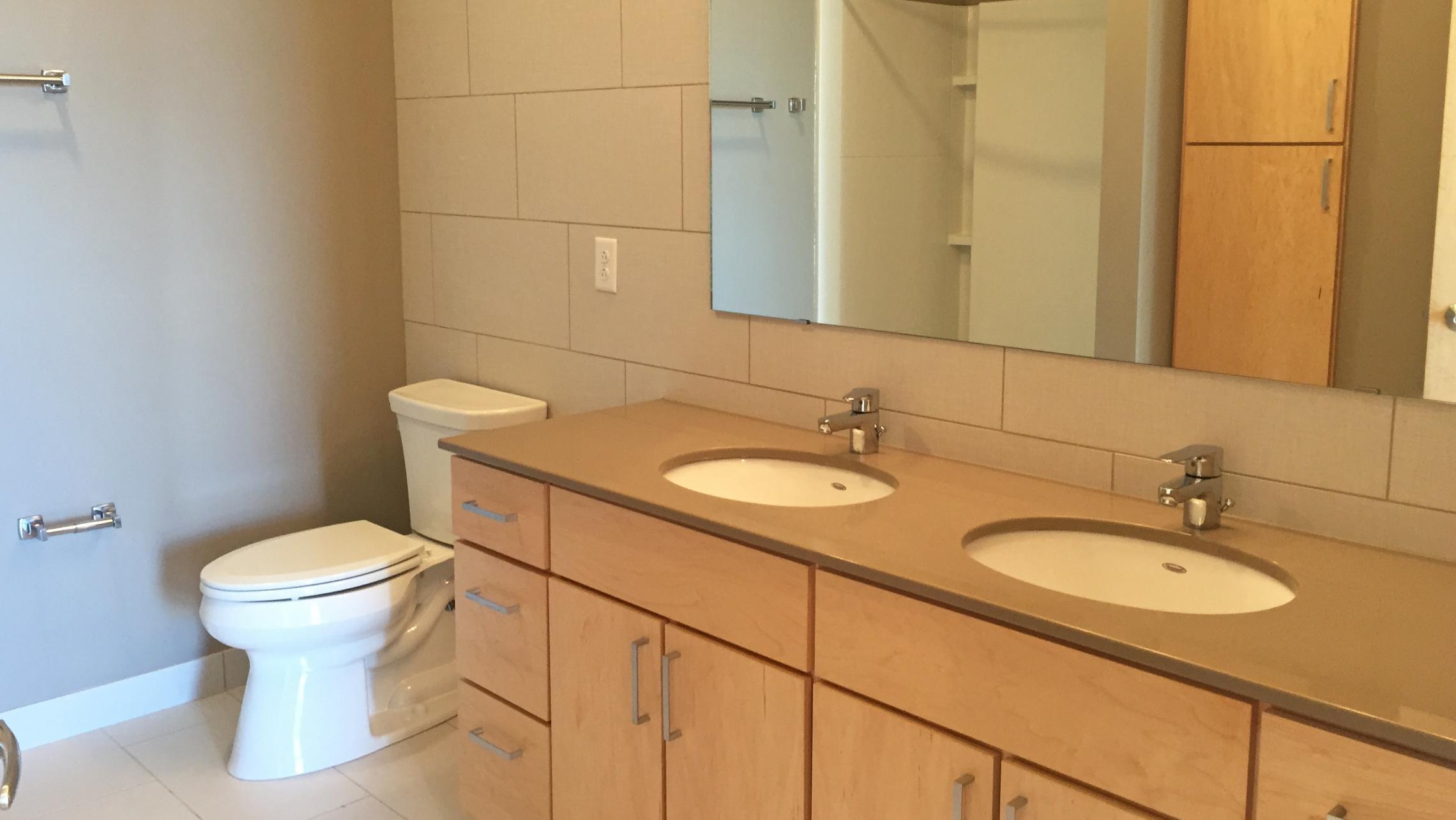 ULI Nine Line Apartment 423 - Bathroom