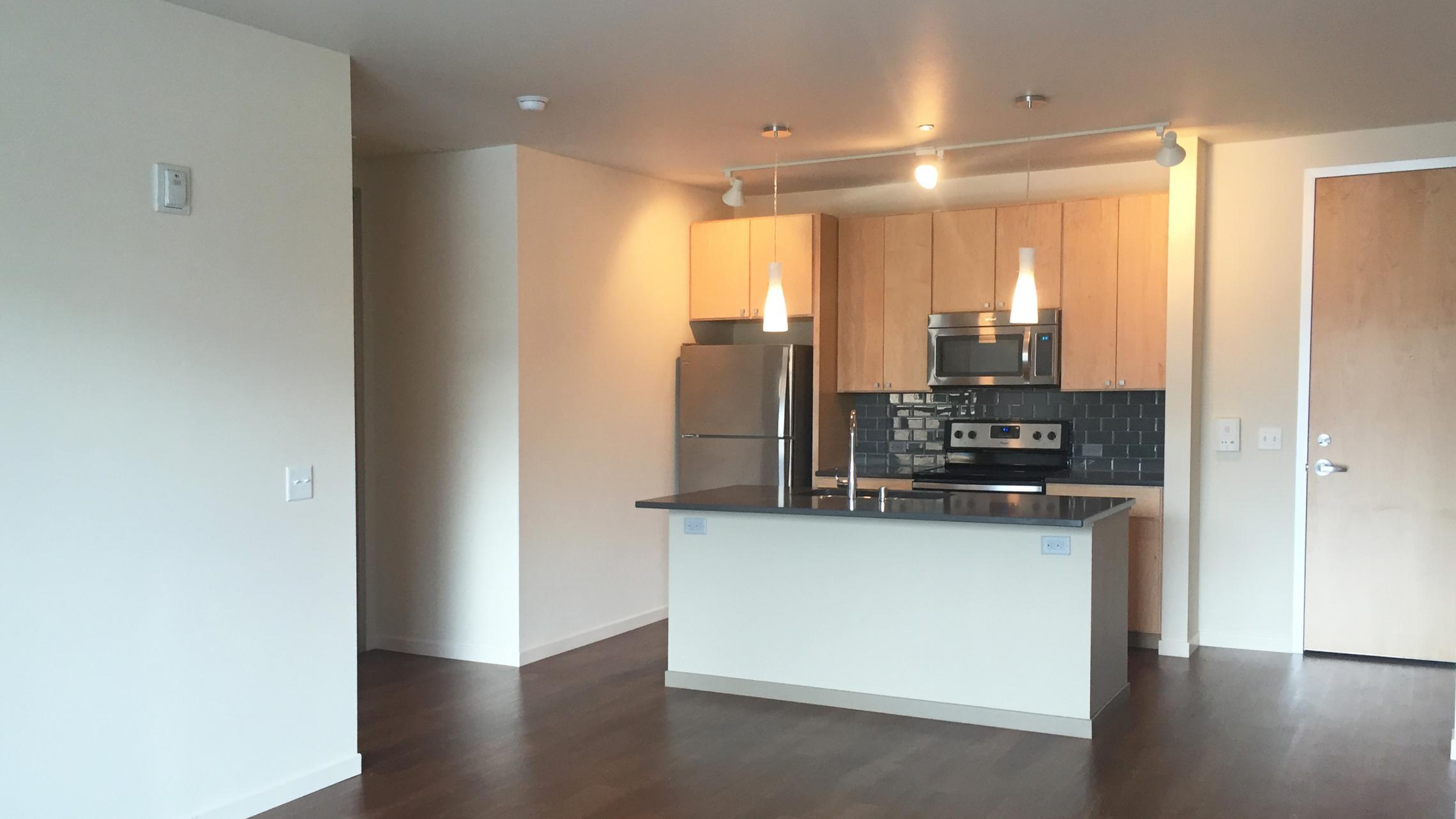 ULI Nine Line Apartment 215 - Kitchen