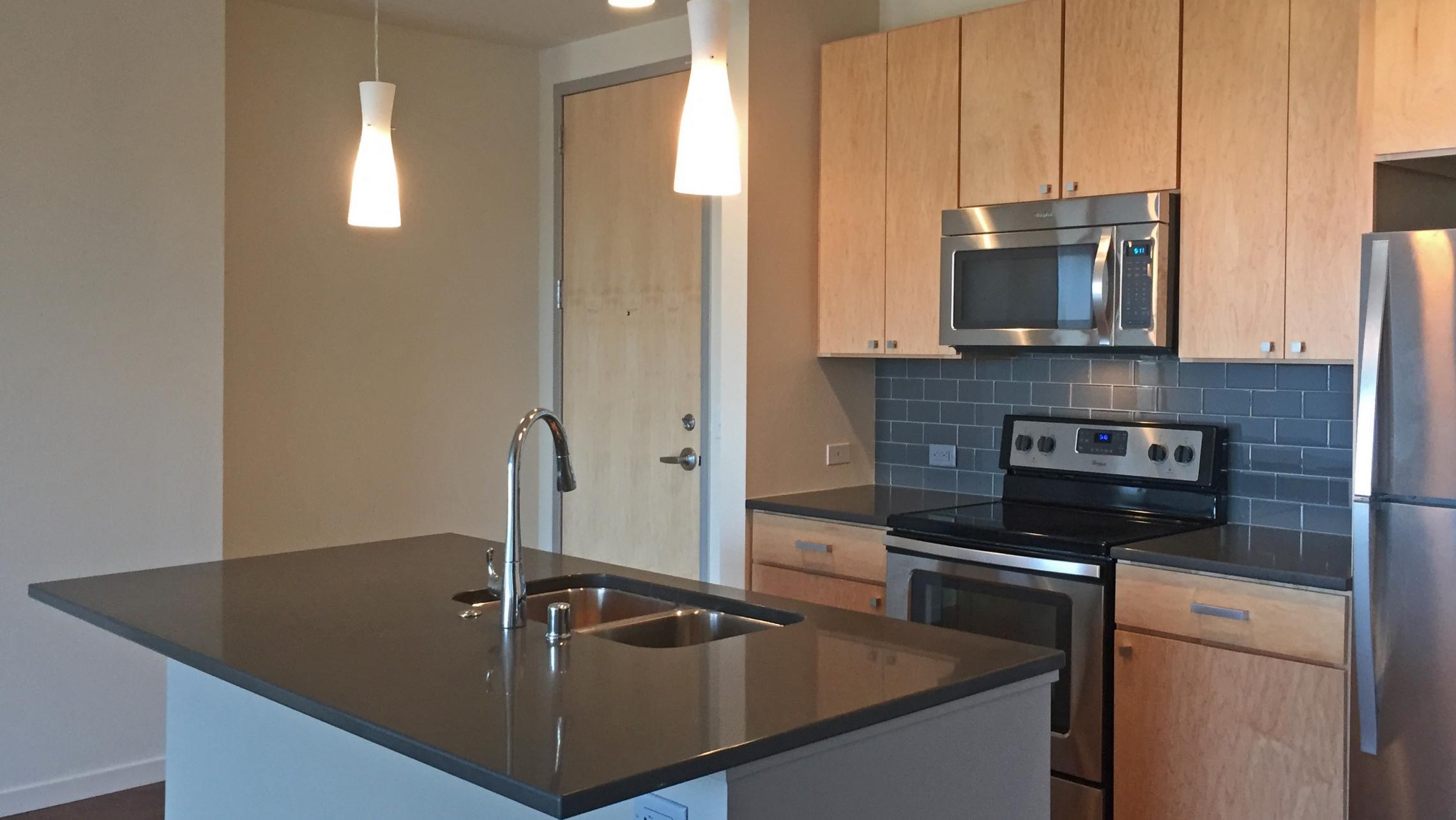 ULI Nine Line Apartment 318 - Kitchen