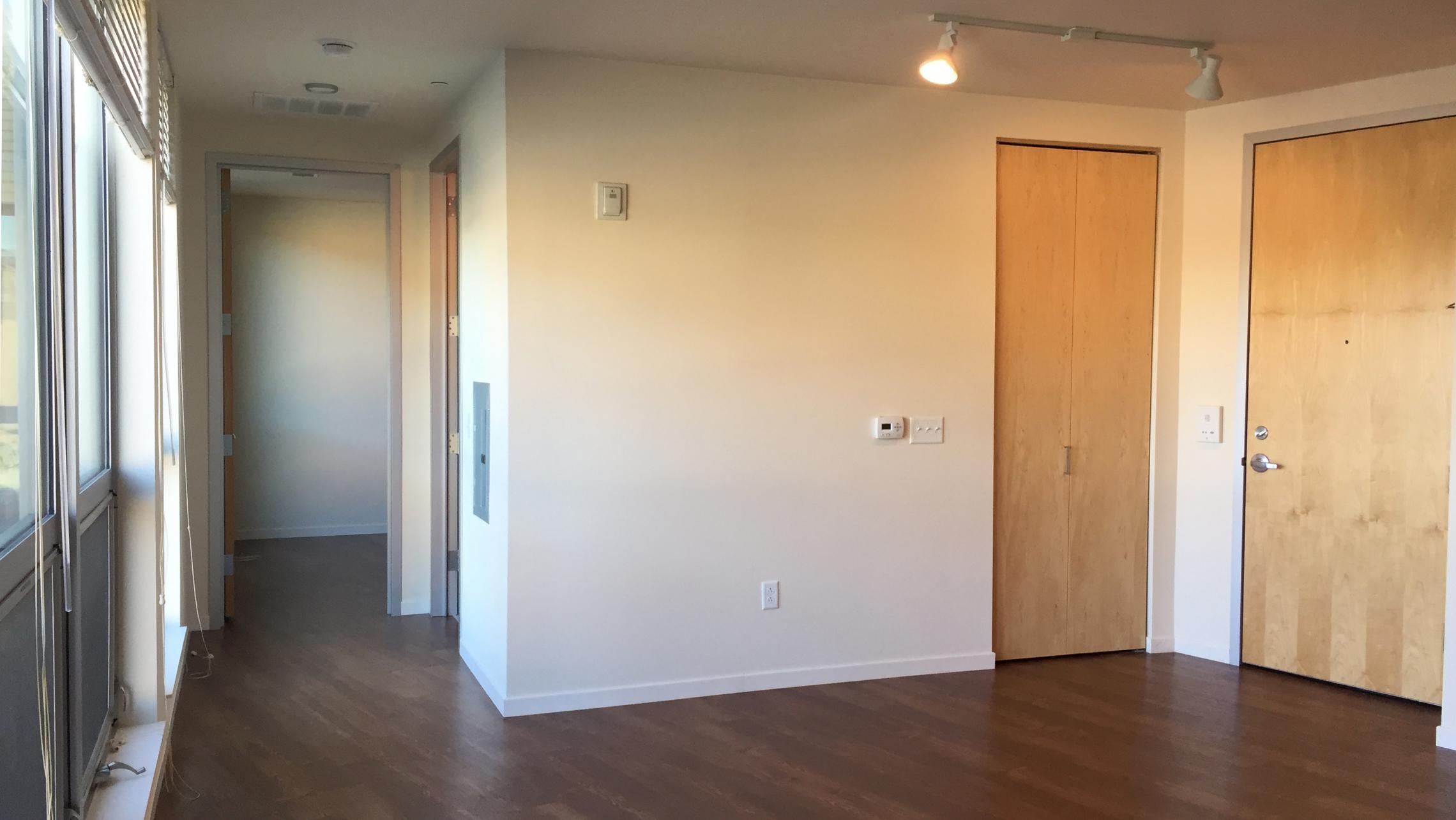 ULI Nine Line Apartment 409 - Living Room