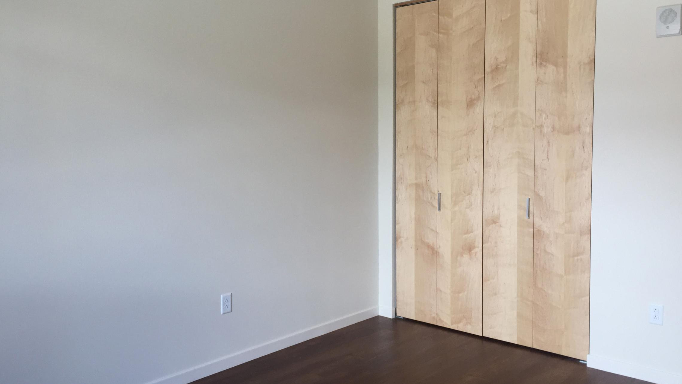 ULI Nine Line Apartment 420 - Bedroom Closet
