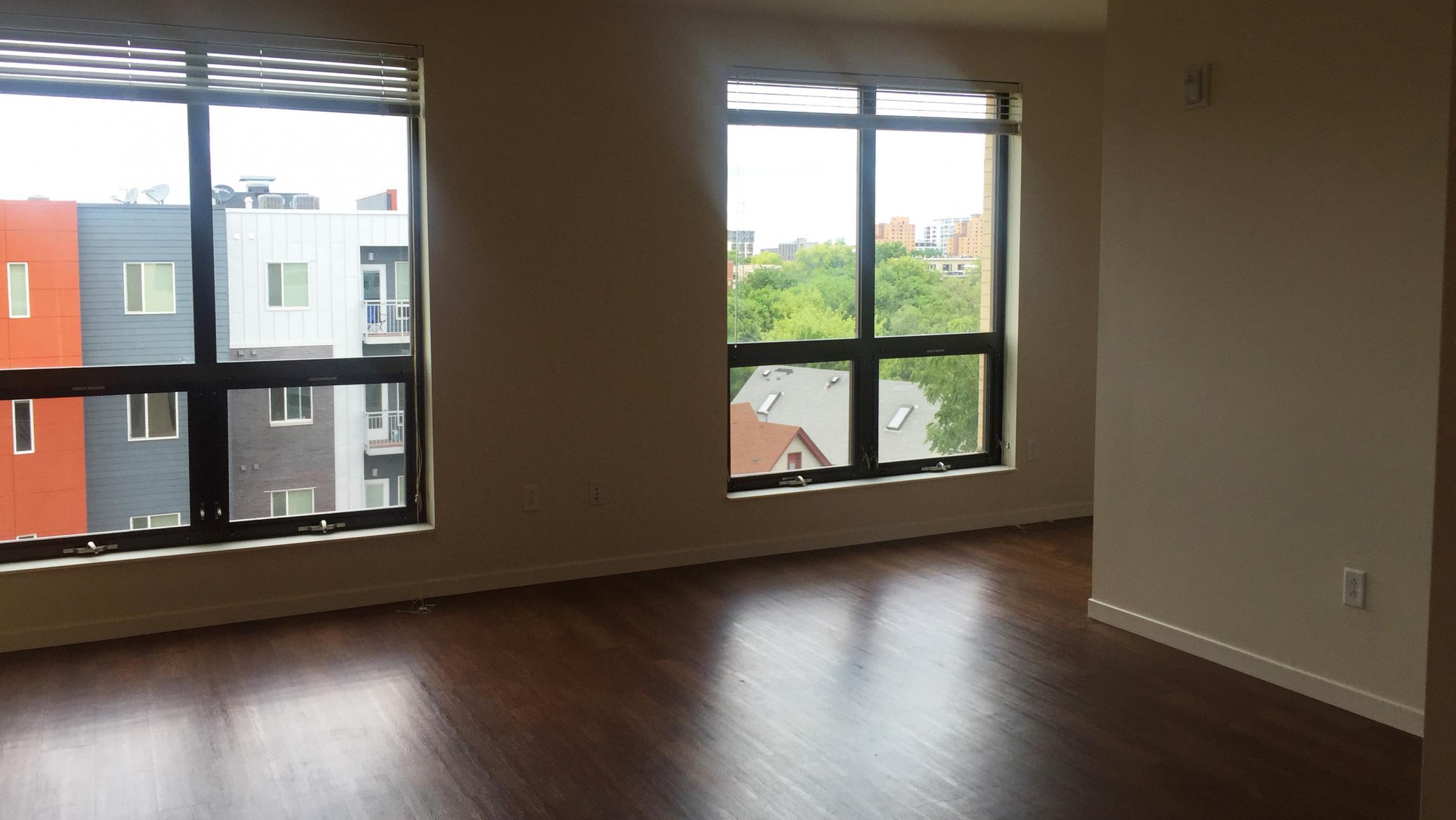 ULI Nine Line Apartment 512 - Living Room Window