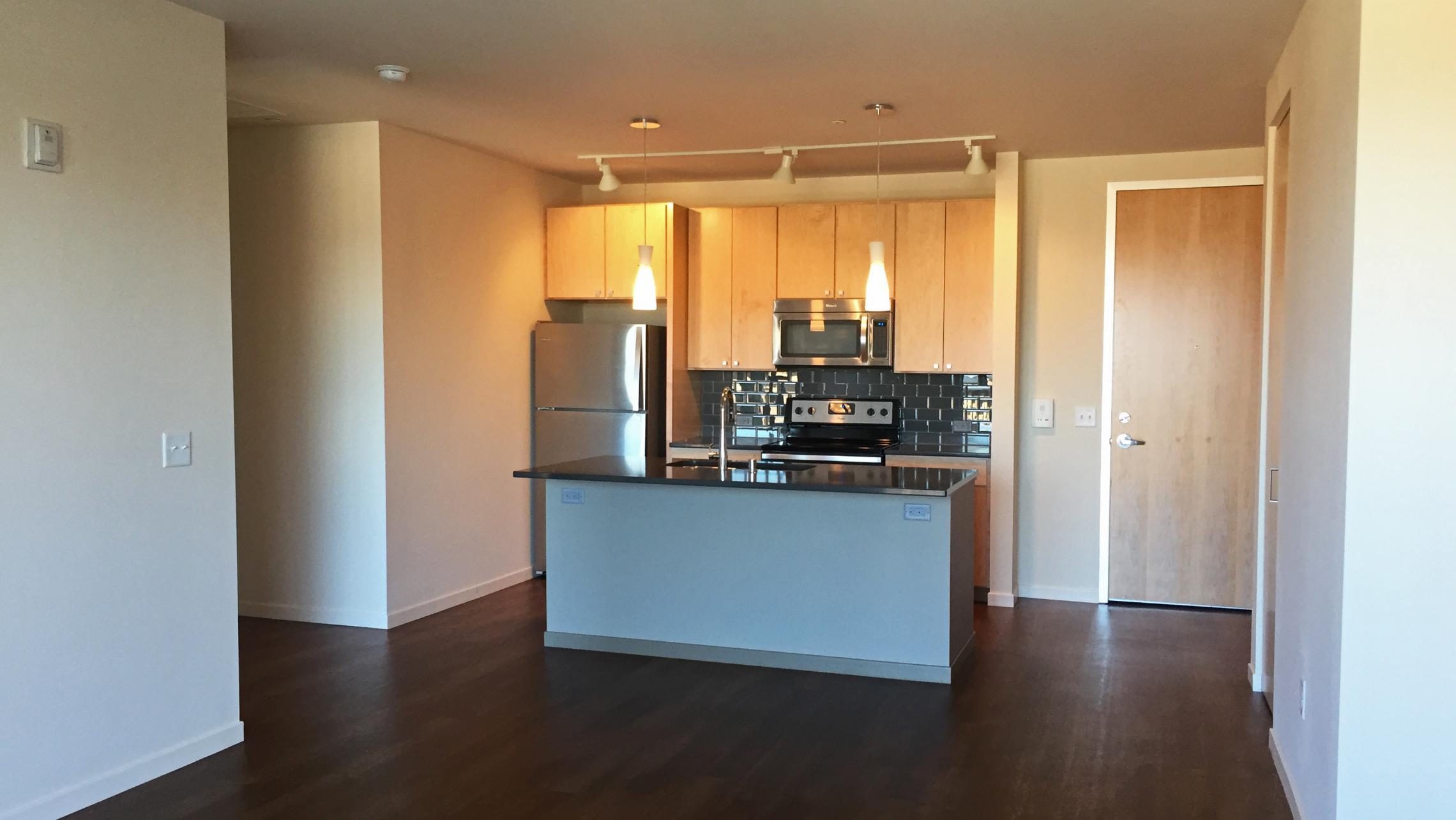 ULI Nine Line Apartment 516 - Kitchen