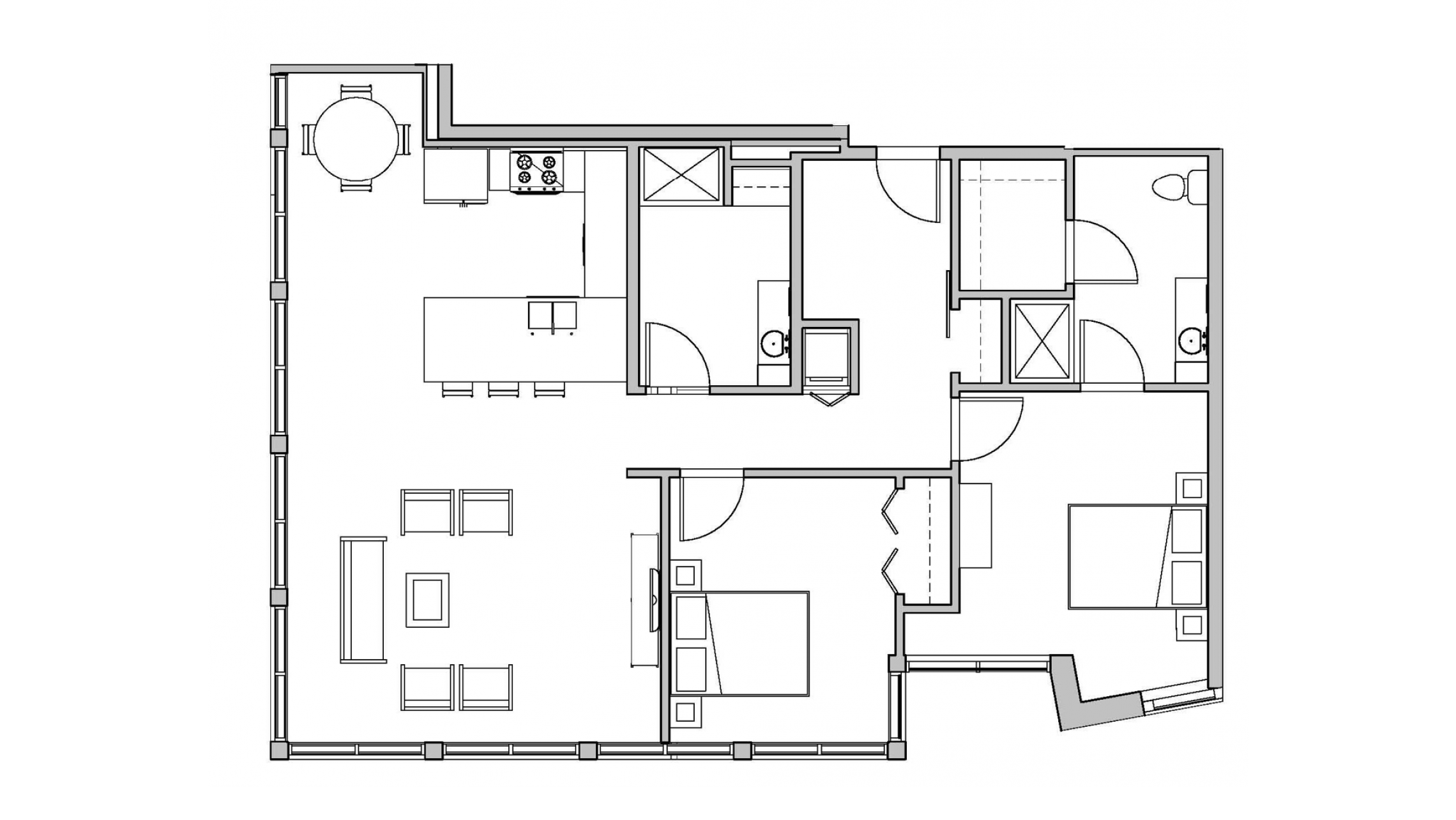 ULI Seven27 101 - Two Bedroom, Two Bathroom