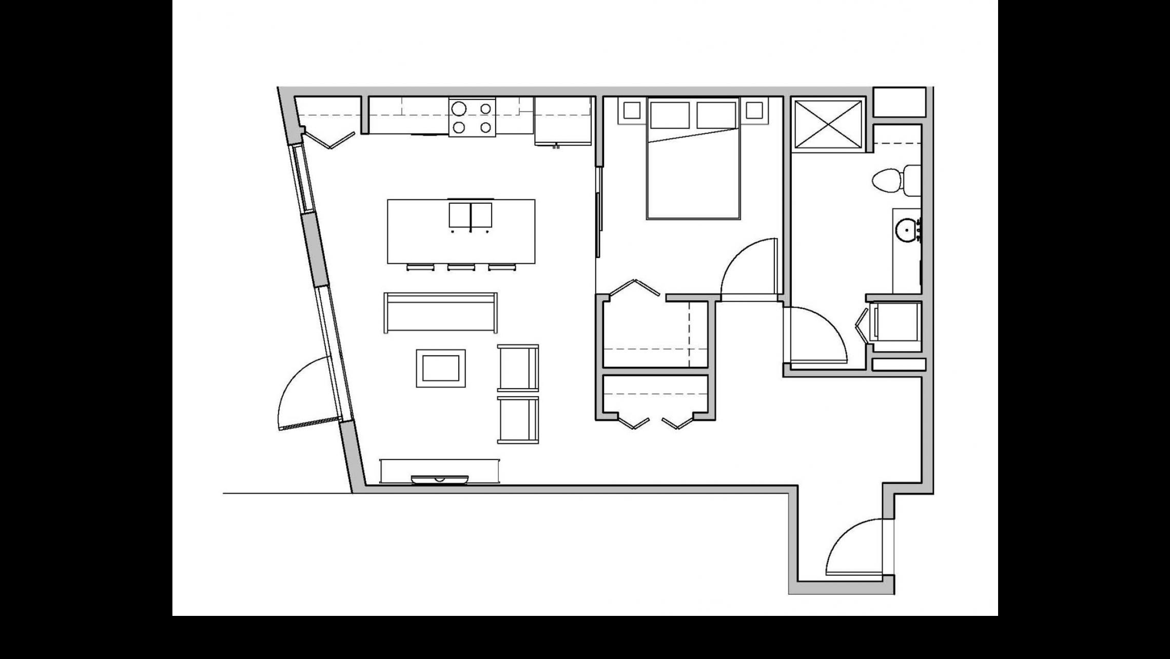 ULI Seven27 104 - One Bedroom, One Bathroom