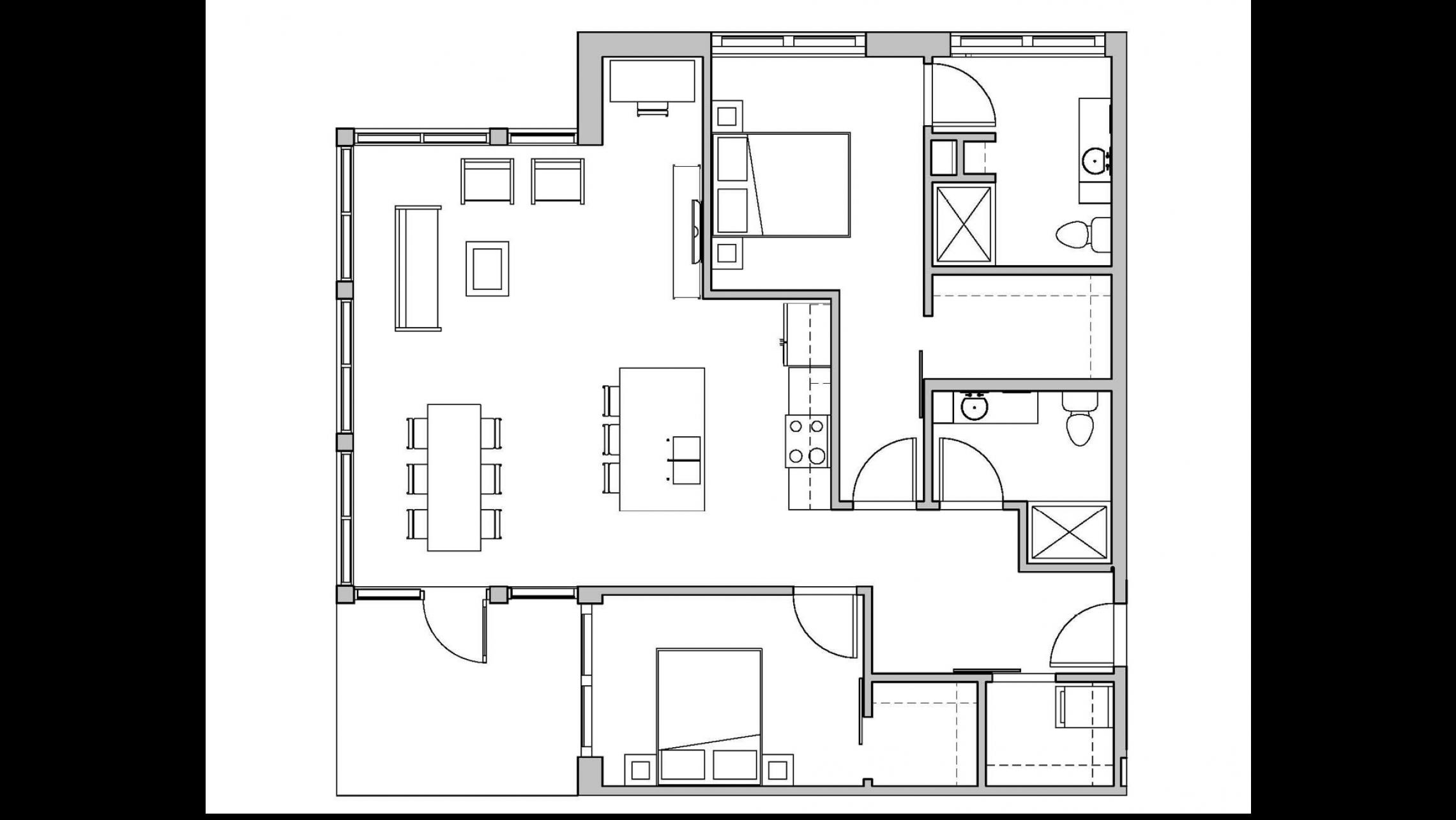 ULI Seven27 110 - Two Bedroom, Two Bathroom