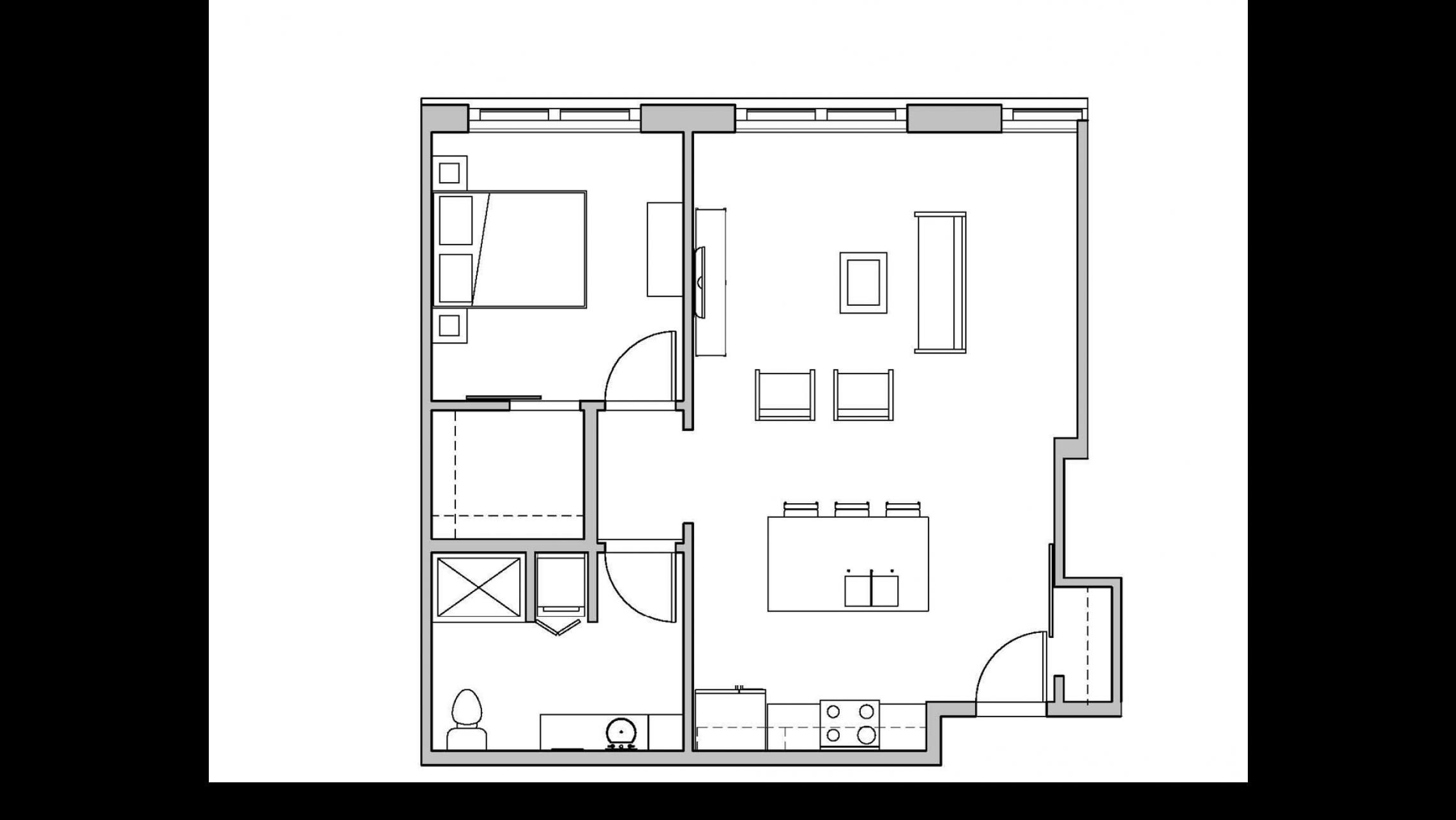 ULI Seven27 116 - One Bedroom, One Bathroom