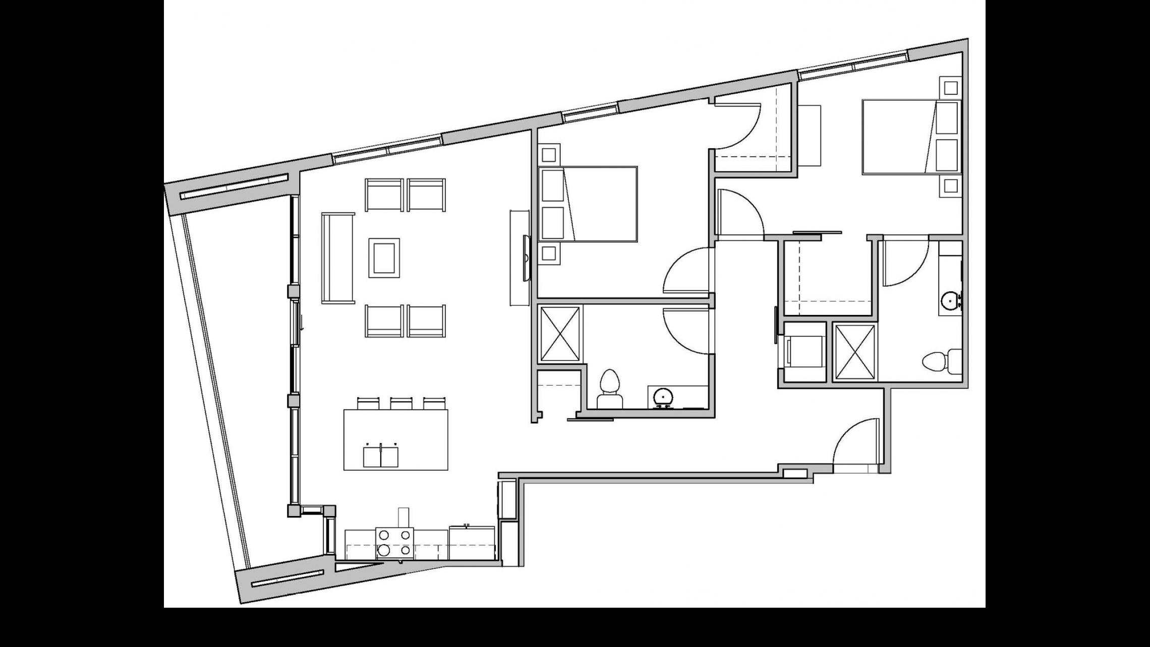 ULI Seven27 202 - Two Bedroom, Two Bathroom