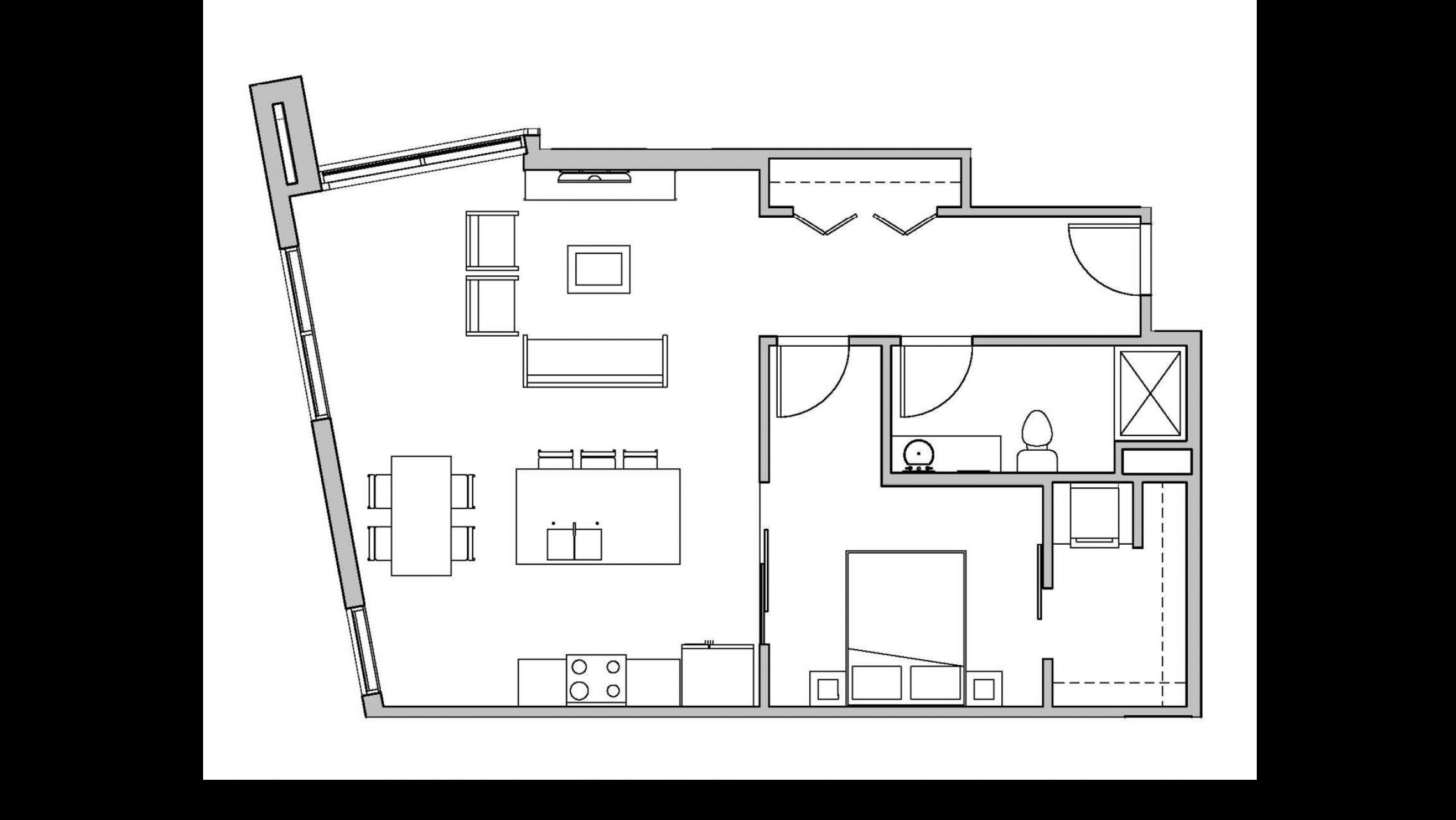 ULI Seven27 206 - One Bedroom, One Bathroom