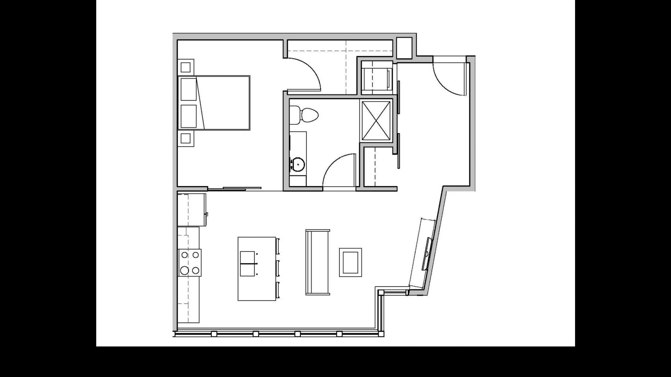 ULI Seven27 217 - One Bedroom, One Bathroom