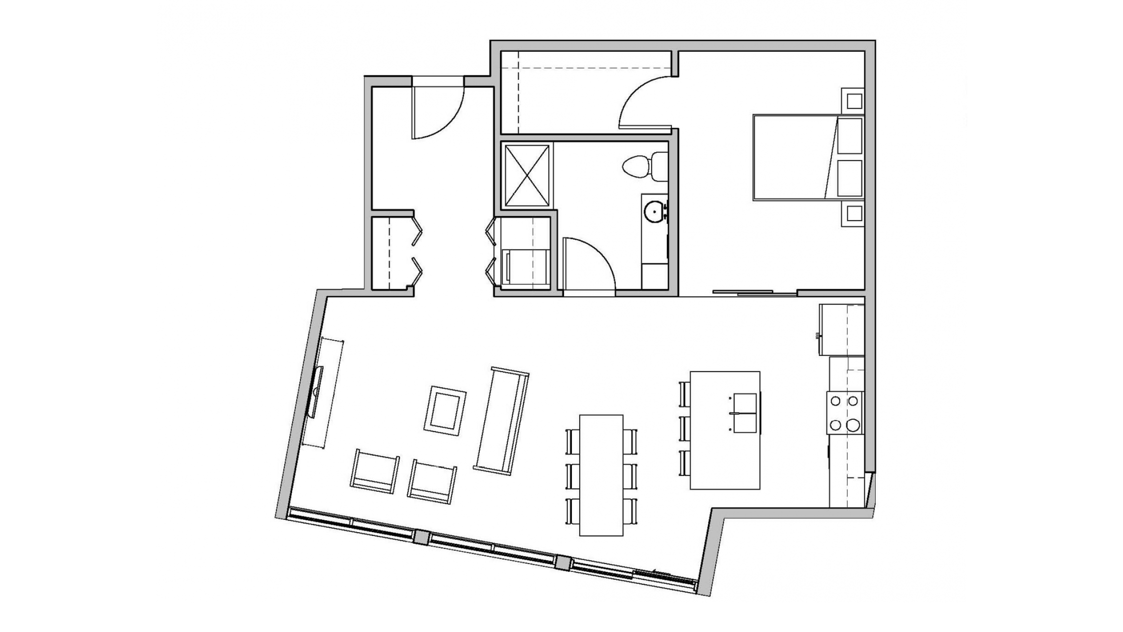 ULI Seven27 219 - One Bedroom, One Bathroom