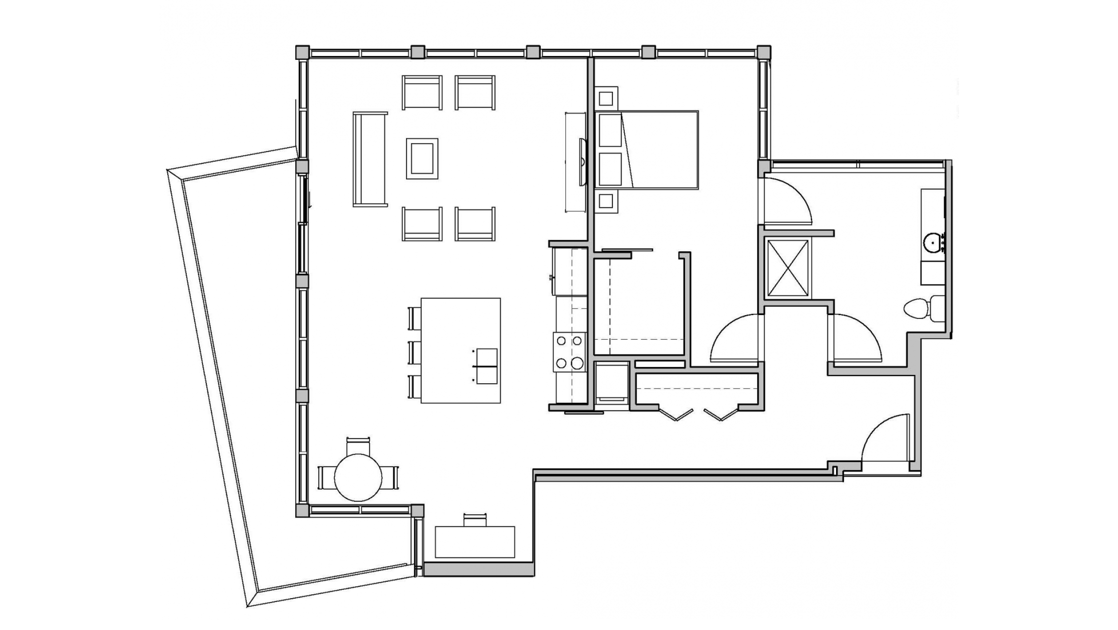 ULI Seven27 302 - One Bedroom, One Bathroom