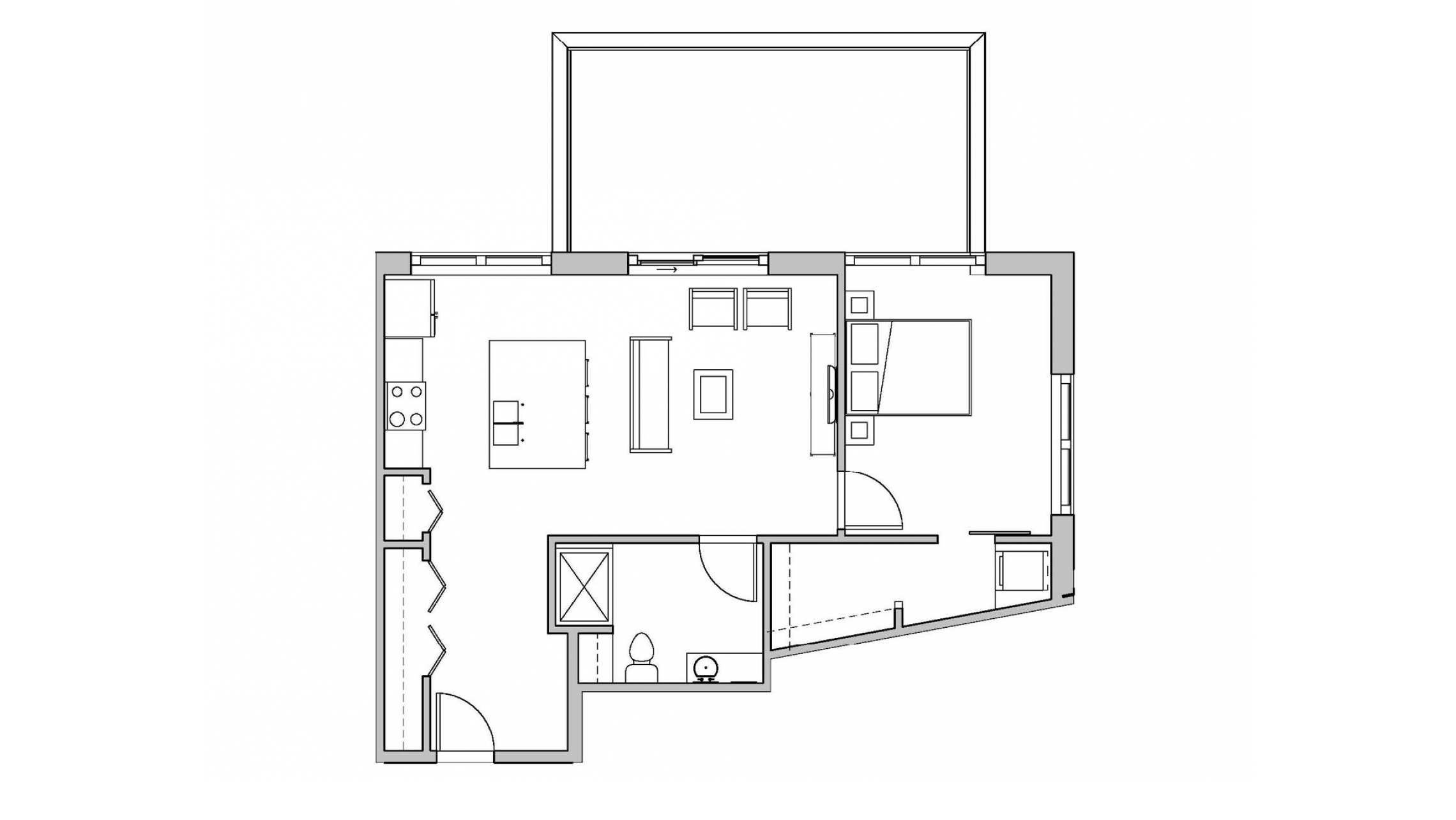 ULI Seven27 310 - One Bedroom, One Bathroom
