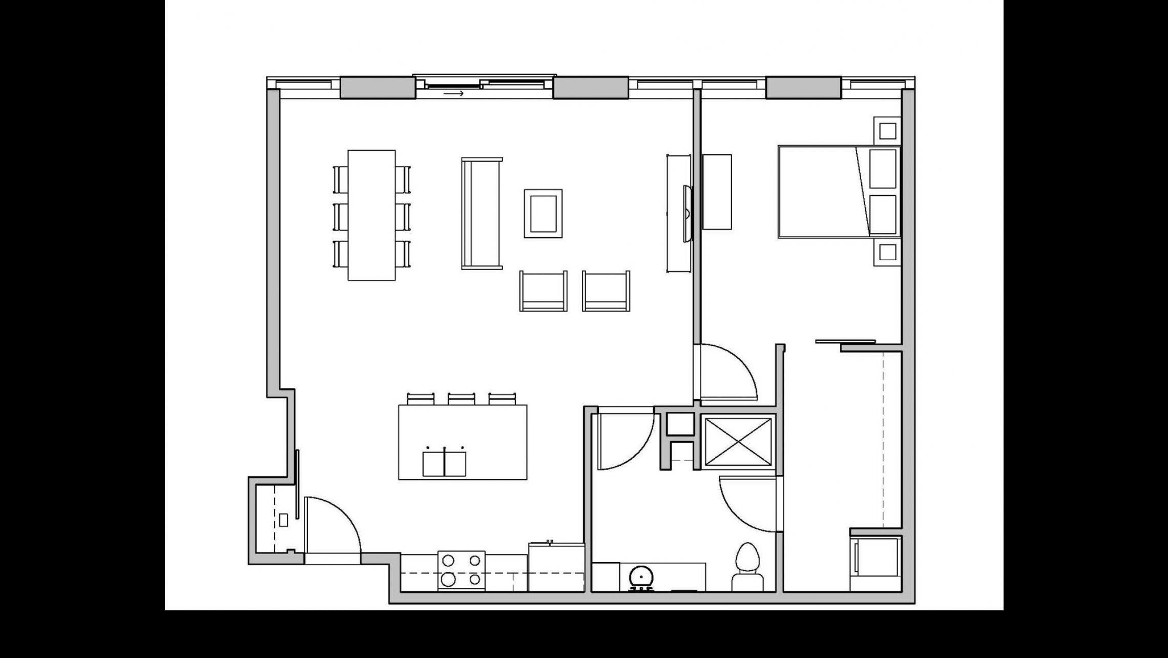 ULI Seven27 316 - One Bedroom, One Bathroom
