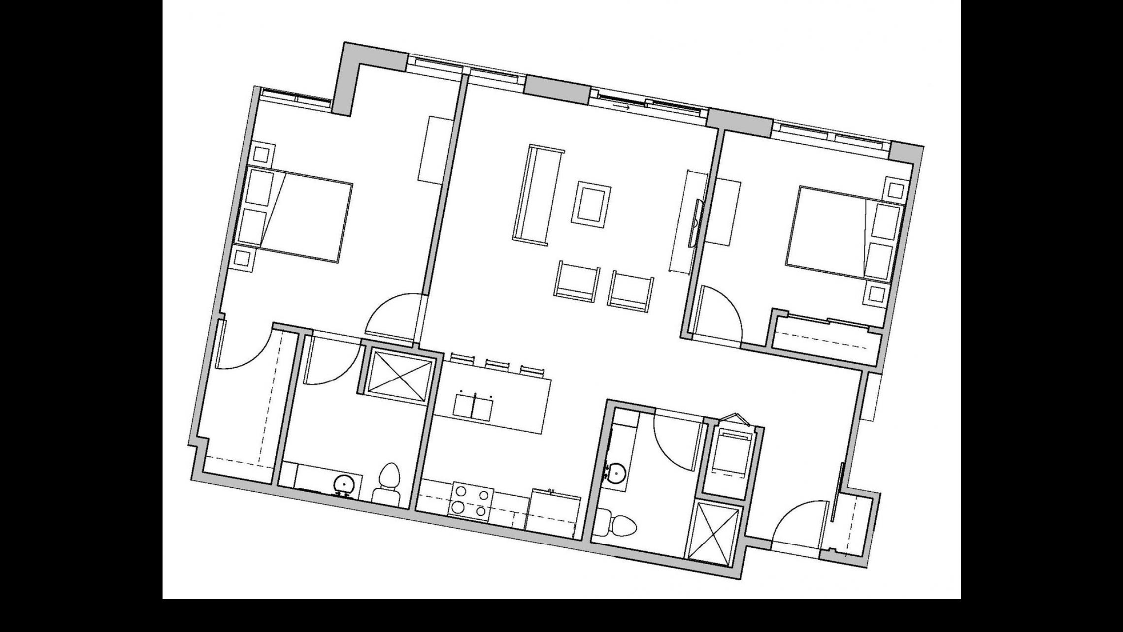 ULI Seven27 337 - Two Bedroom, Two Bathroom