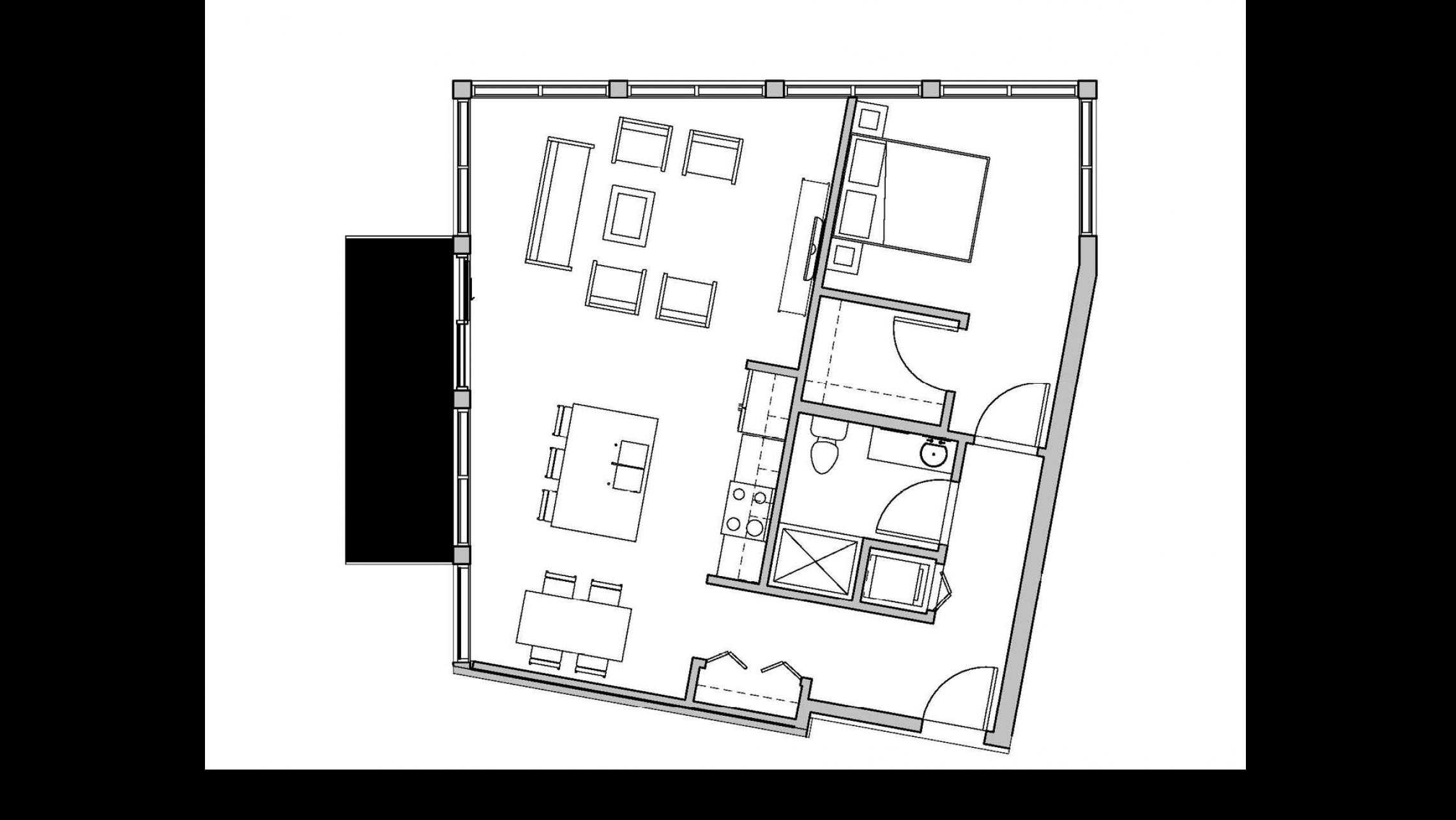 ULI Seven27 339 - One Bedroom, One Bathroom