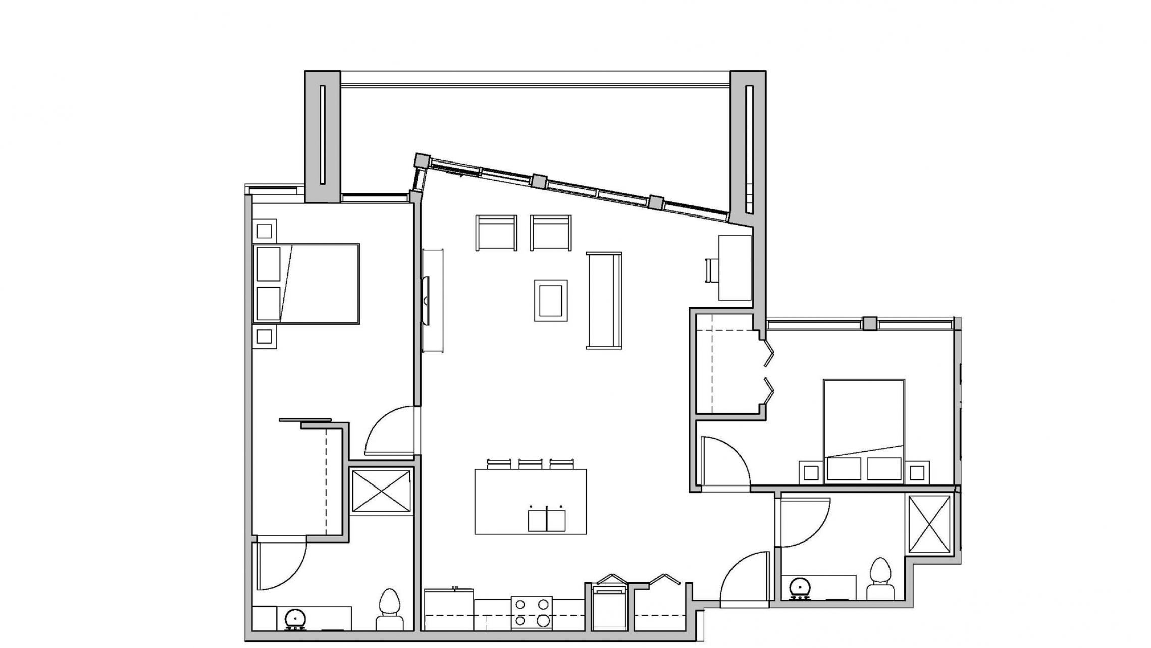 ULI Seven27 422 - Two Bedroom, Two Bathroom