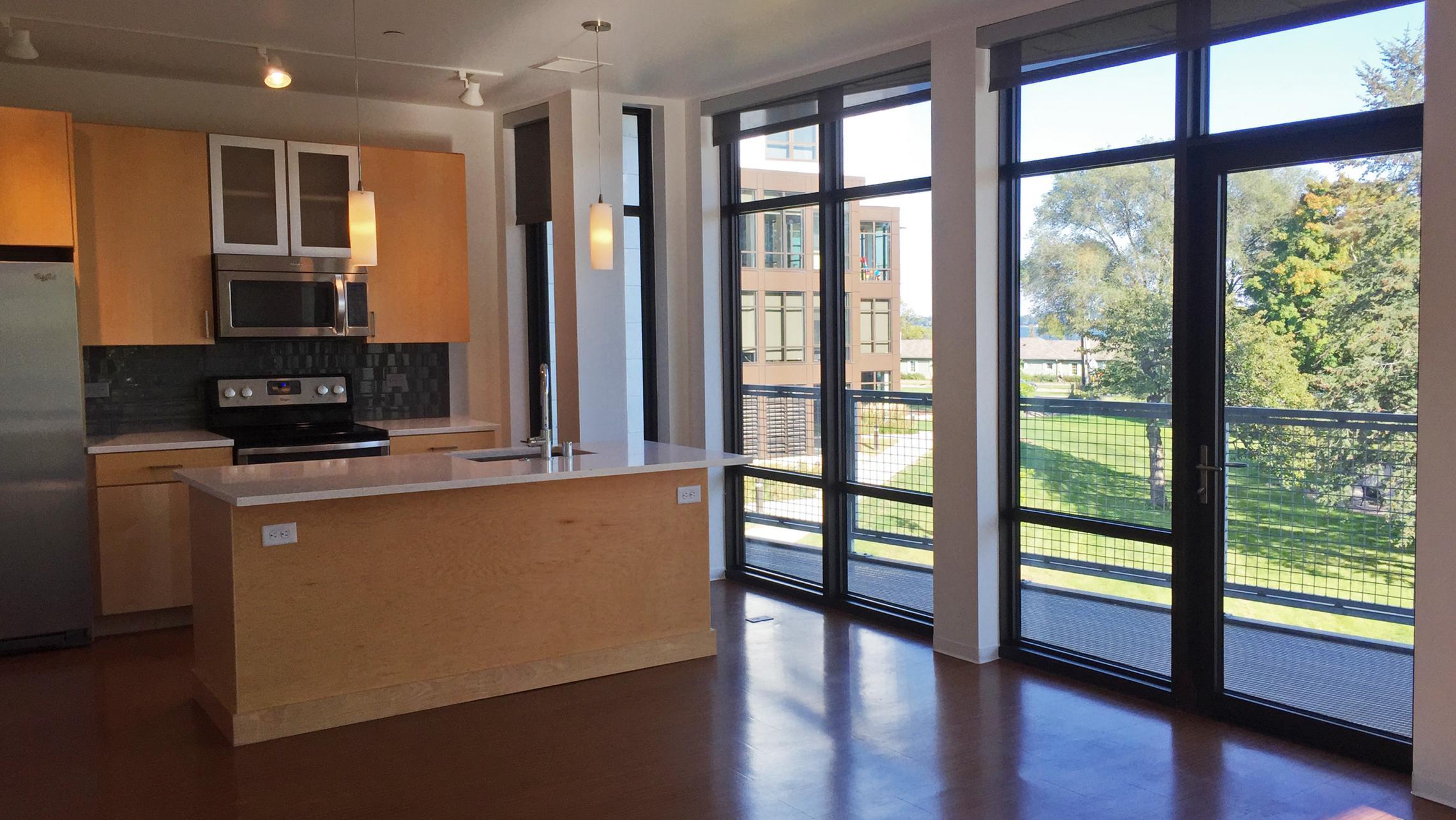 ULI Seven27 Apartment 202 - Kitchen View