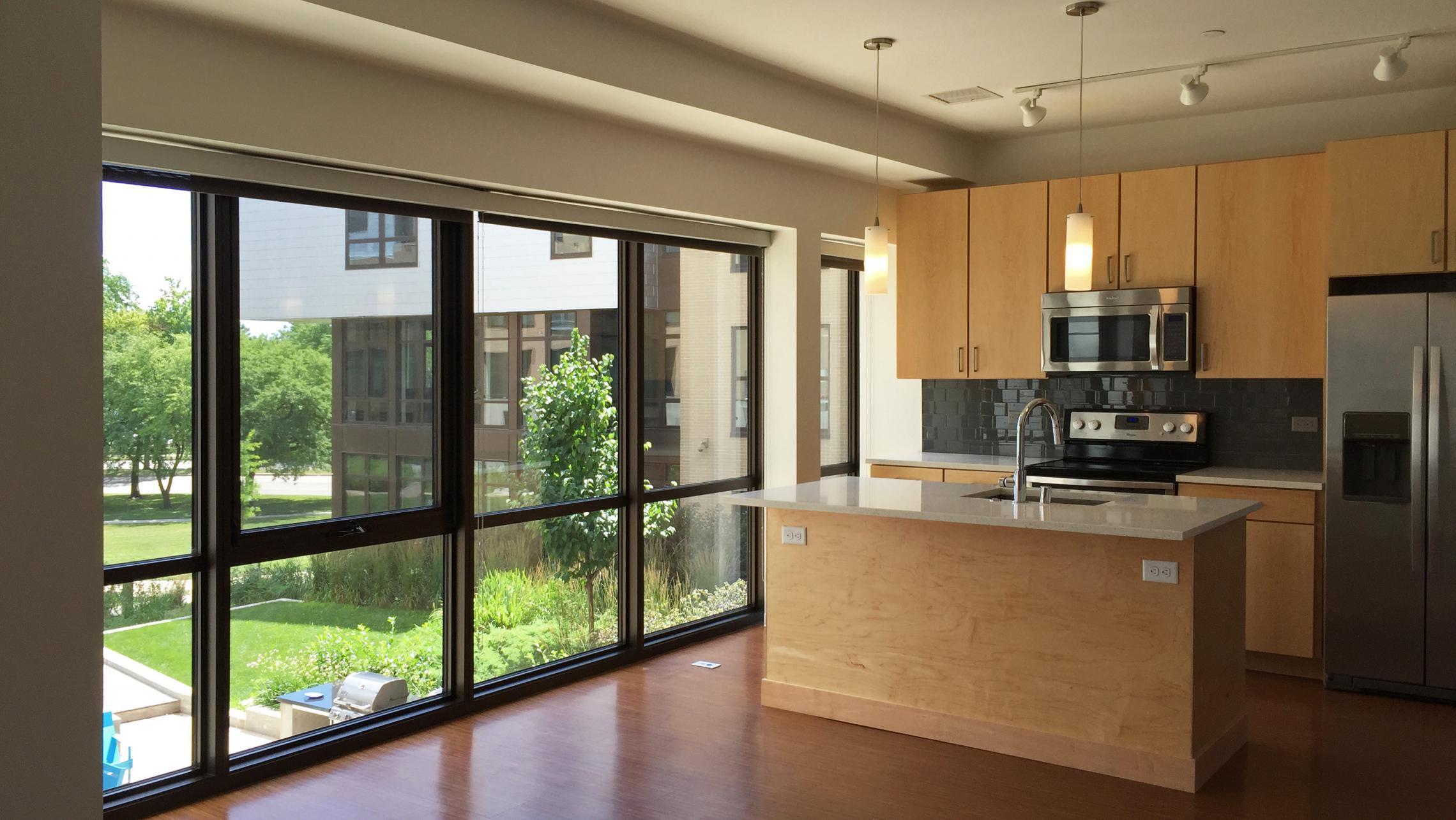 ULI Seven27 Apartment 217 - Kitchen Windows