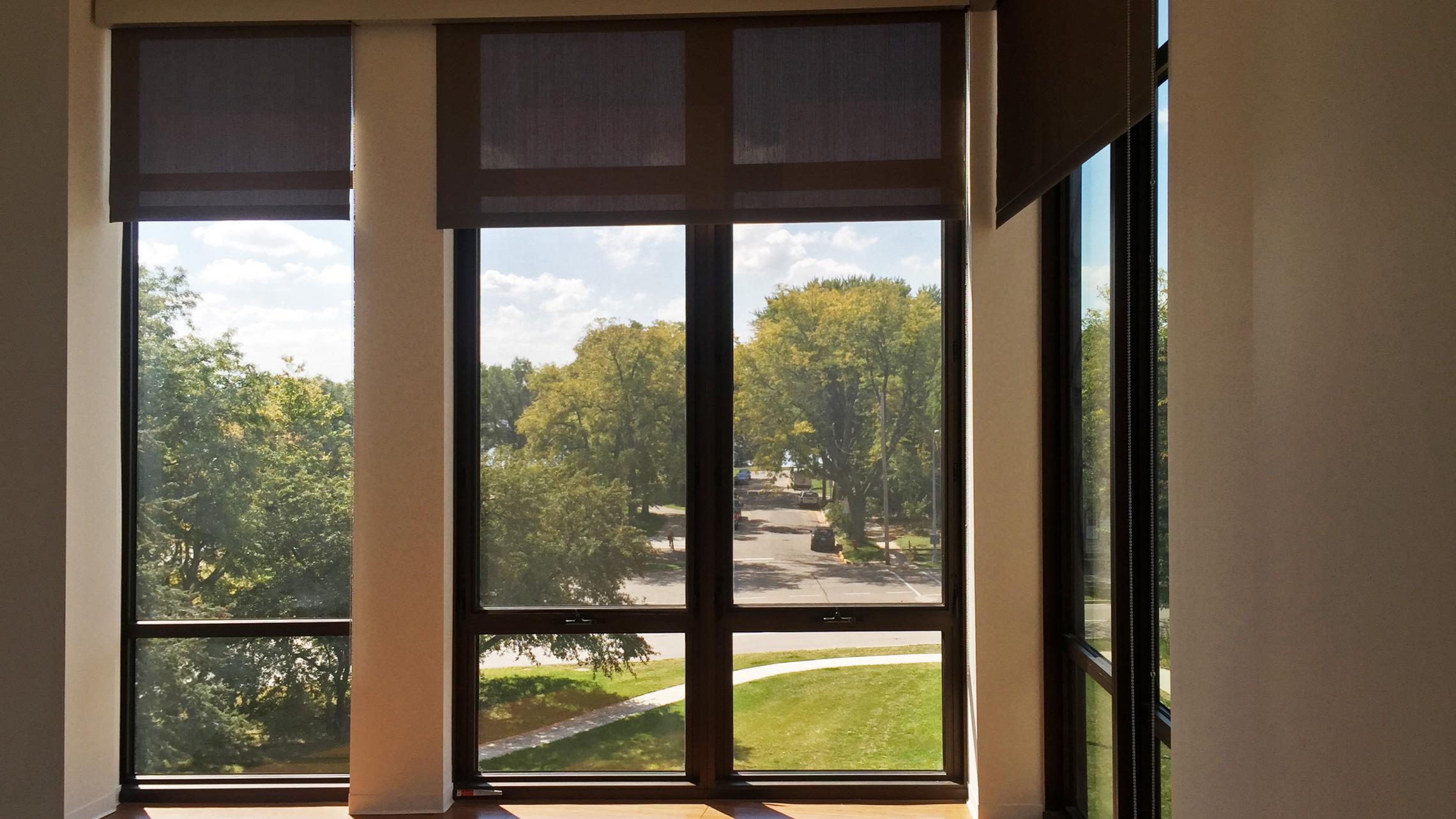 ULI Seven27 Apartment 339 - Living Room with Neighborhood View