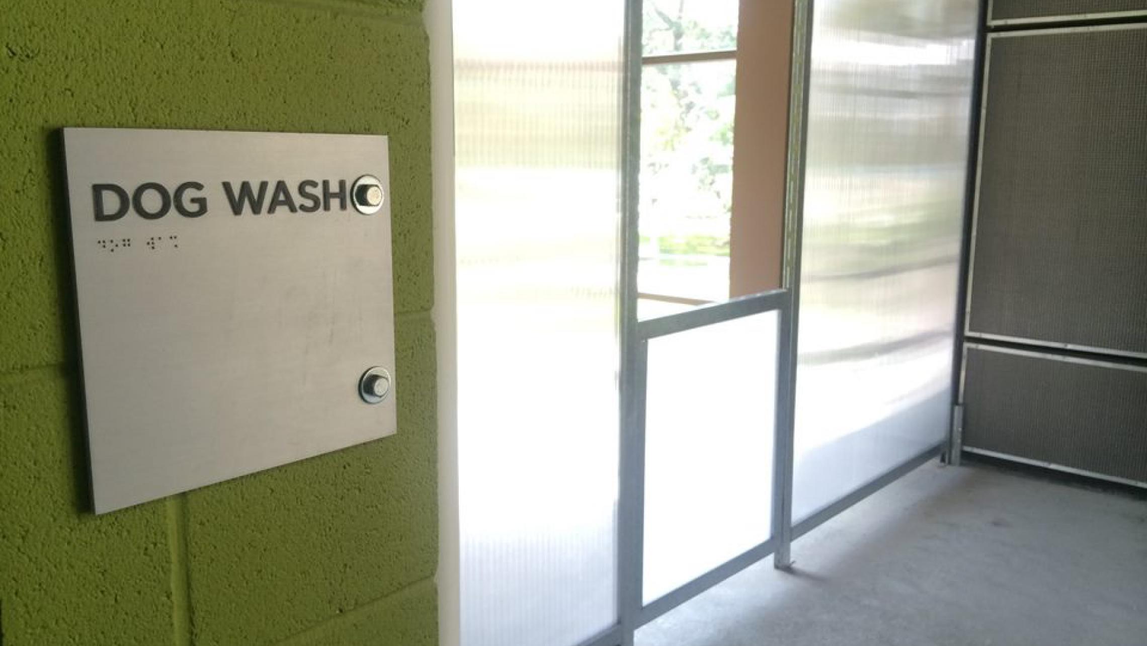 ULI Seven27 Apartments - Dog Wash in a Dog Friendly Building