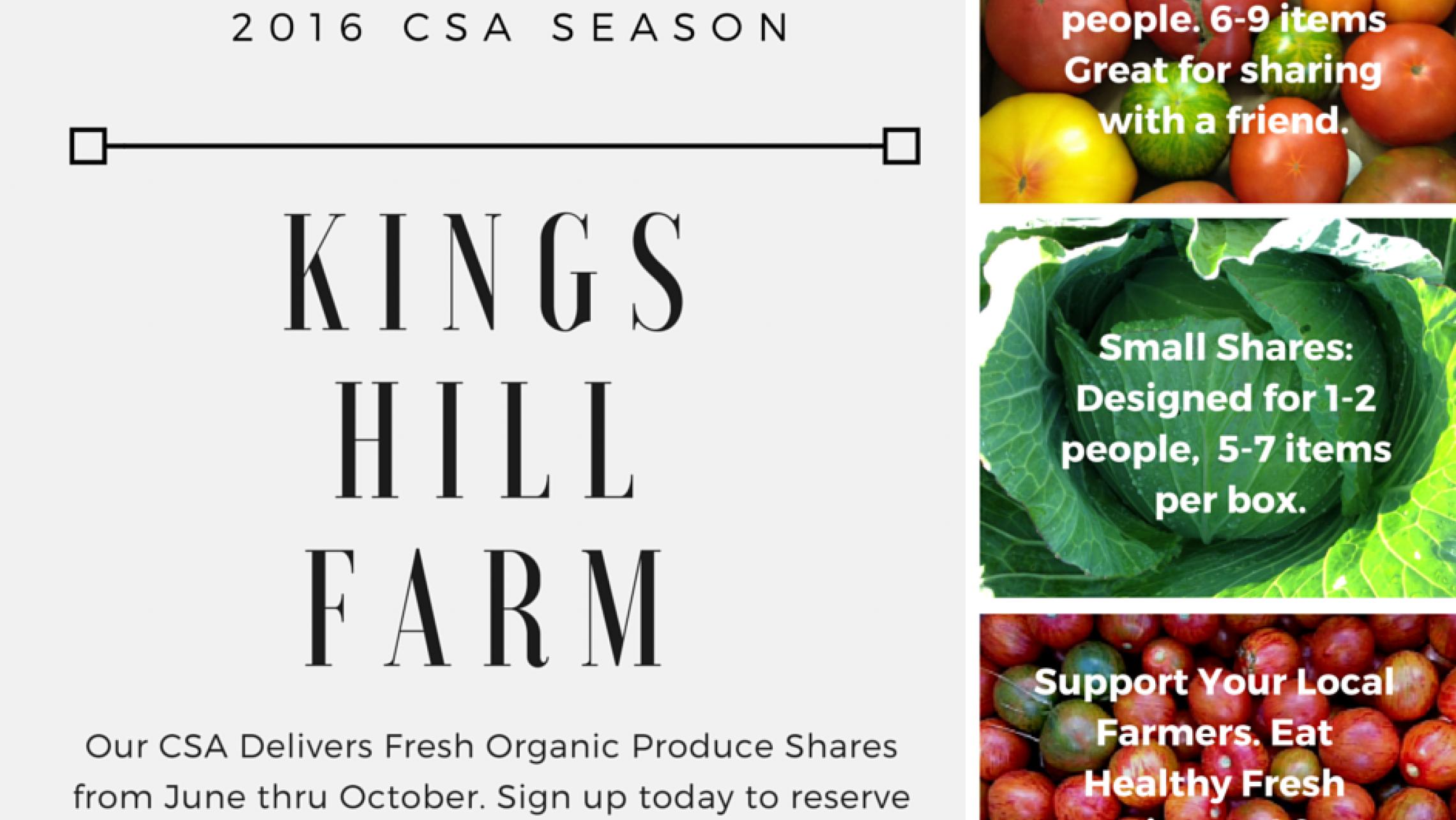ULI Seven27 Apartments - Kings Hill Farm CSA Info