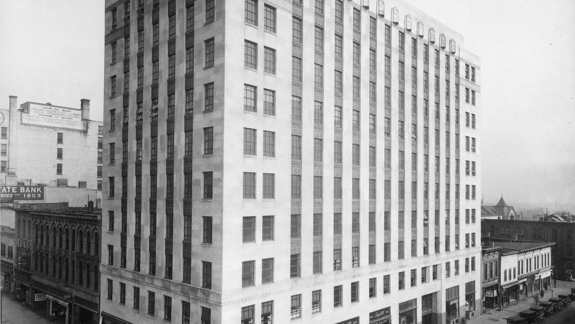 ULI Tenney Plaza - Historic Photo of the façade