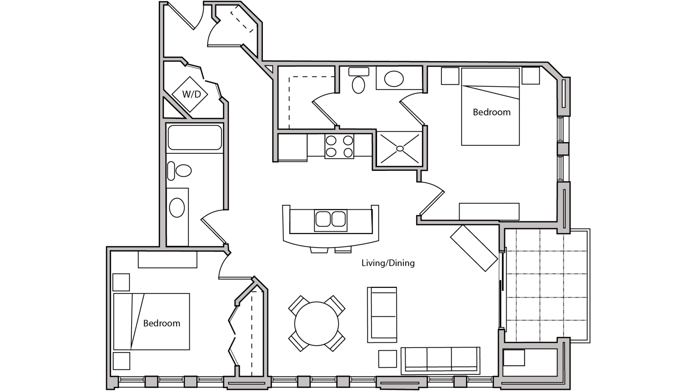 ULI The Depot 1-204 - Two Bedroom, Two Bathroom