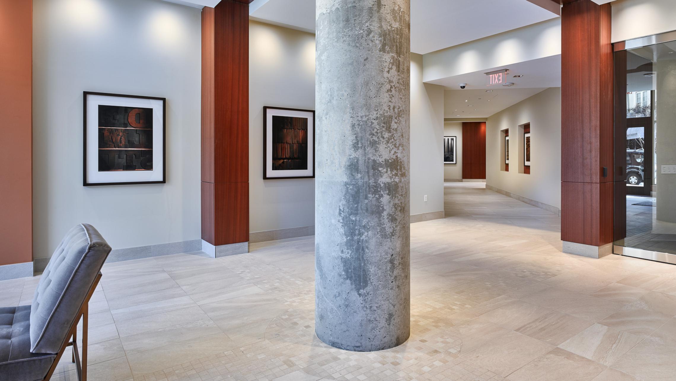 ULI The Pressman Lobby with Rebholz Art