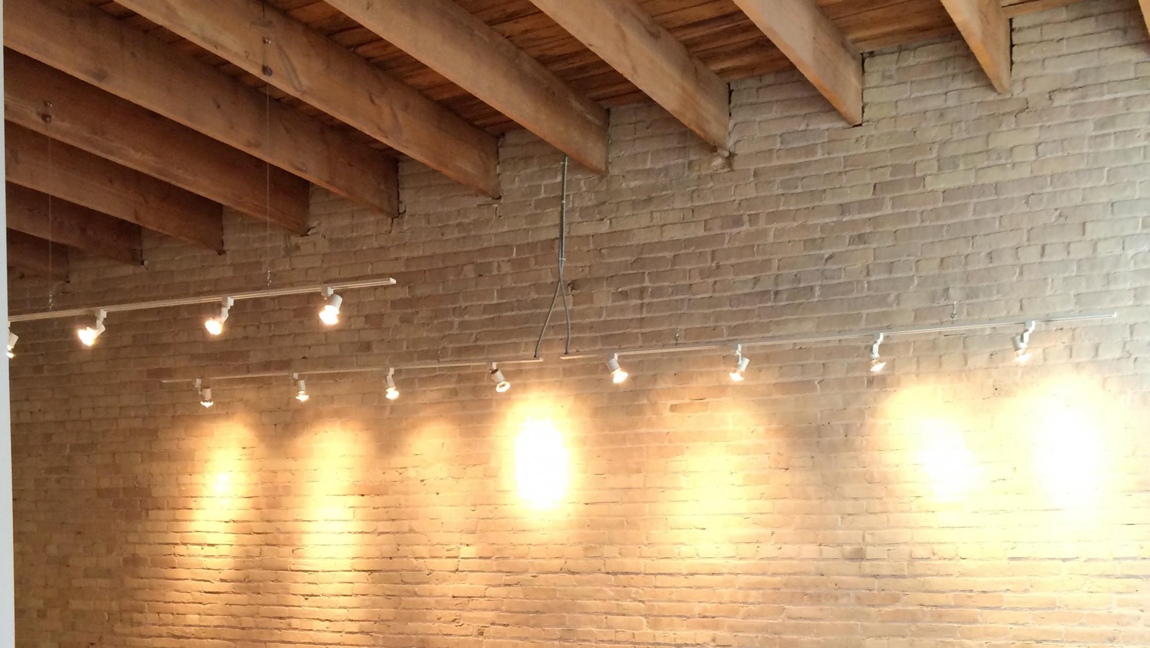 ULI Tobacco Lofts - W211 - Exposed Brick and Wood Beams