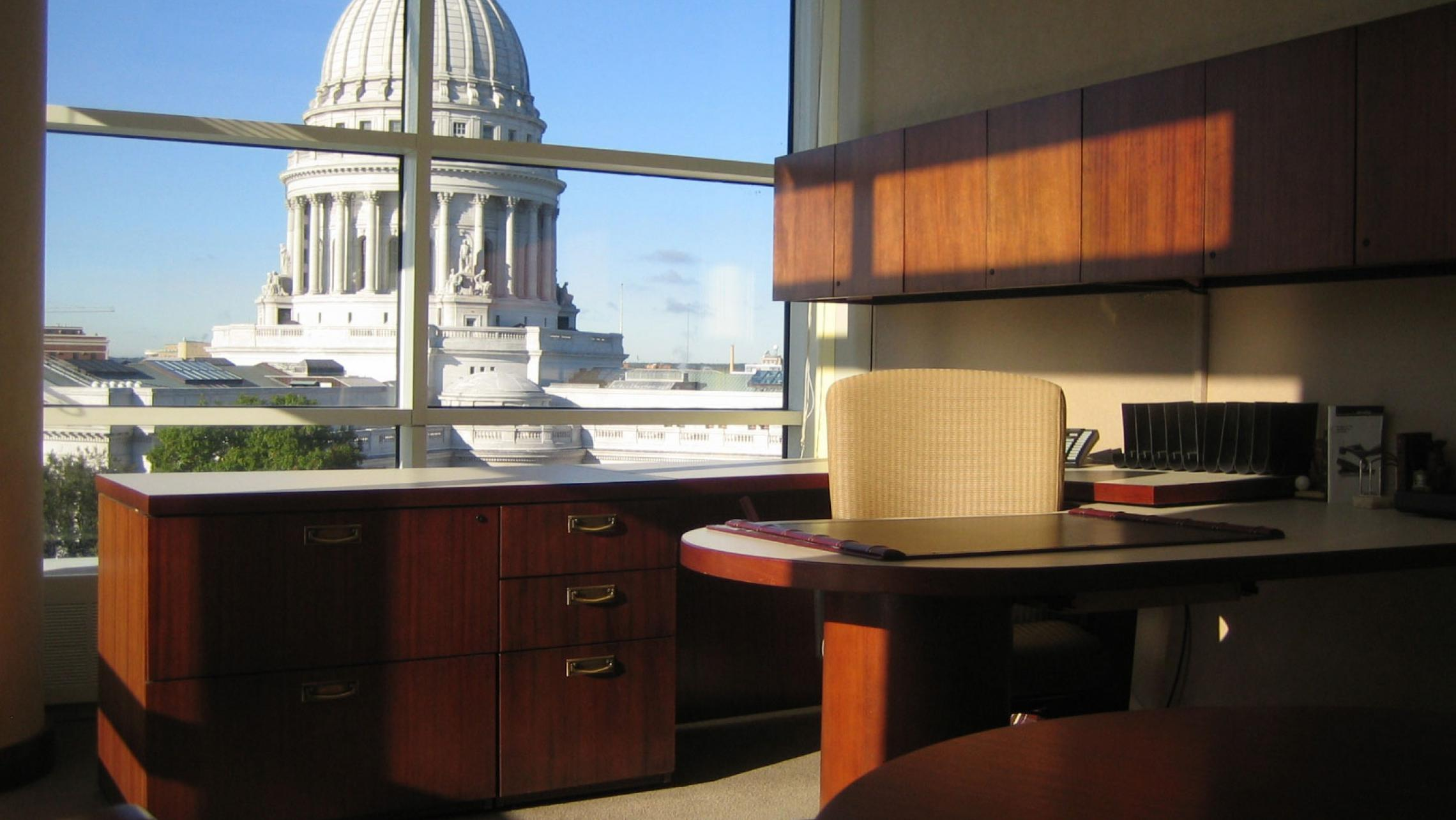 ULI US Bank Plaza - Office with a Capitol View