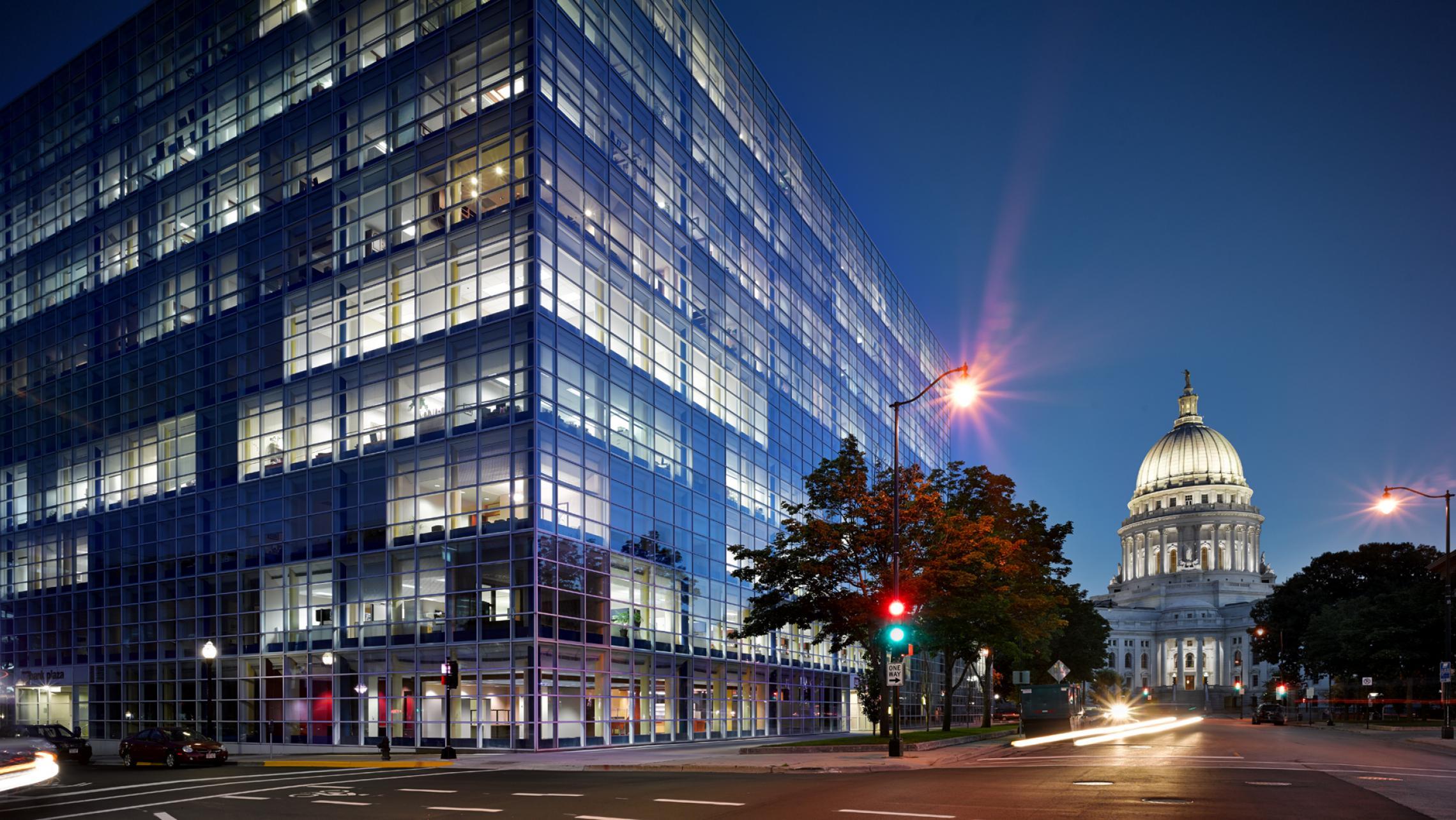 ULI US Bank Plaza LEED Certified - Rebholz