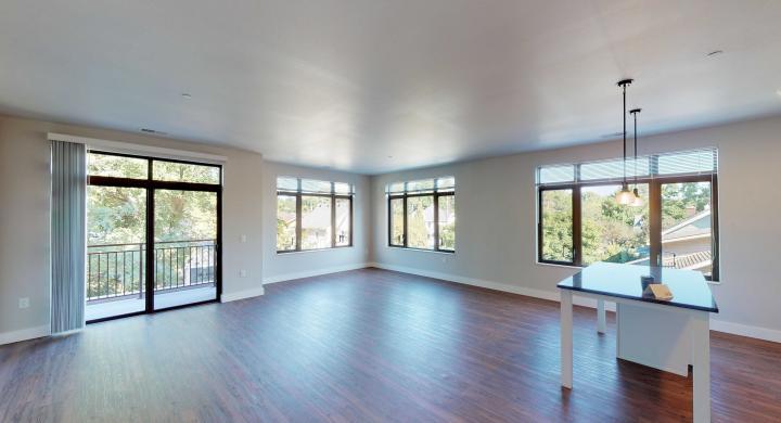 1722-Monroe-Apartment-220-Three Bedroom-Modern-Luxury-Corner-Balcony-Urban Living-Kitchen-Dining.jpg