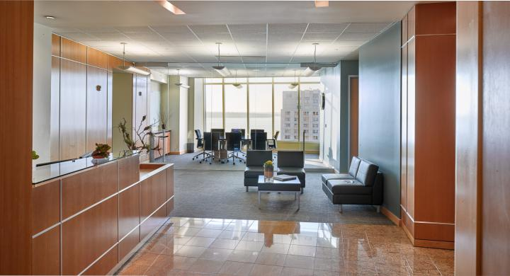 ULI Capitol Executive Suites - Reception Desk and Conference room