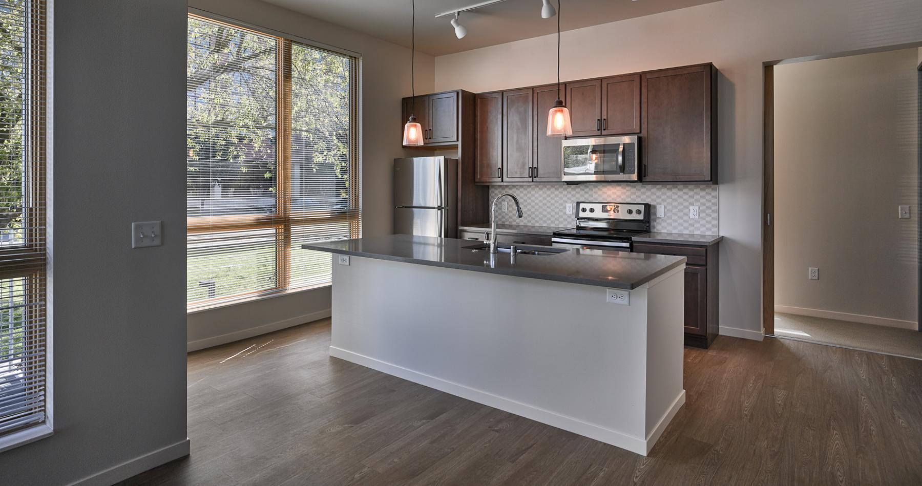 ULI Quarter Row at the Yards - Kitchen Stainless Steel Appliances