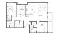 ULI Nine Line 325 - Three Bedroom, Two Bathroom