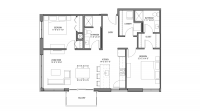 ULI Nine Line 414 - Two Bedroom, Two Bathroom