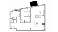 ULI Seven27 305 - One Bedroom, One Bathroom