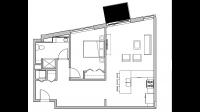 ULI Seven27 305 - One Bedroom, One Bathroom