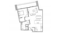 ULI Seven27 312 - One Bedroom, One Bathroom