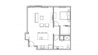 ULI Seven27 319 - One Bedroom, One Bathroom