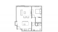 ULI Seven27 418 - One Bedroom, One Bathroom