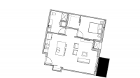 ULI Seven27 526 - One Bedroom, One Bathroom